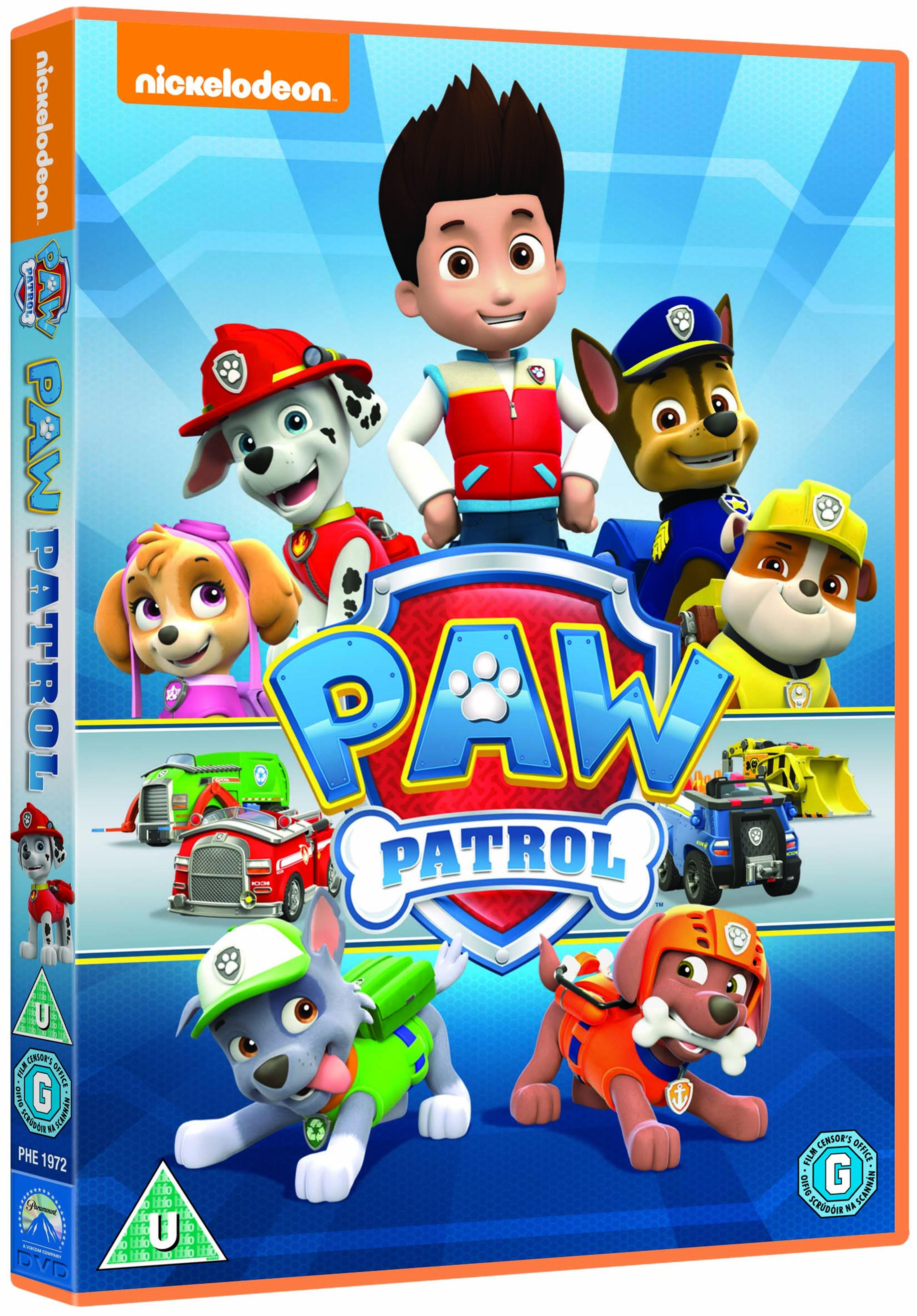 paw patrol  dvd  free shipping over £20  hmv store