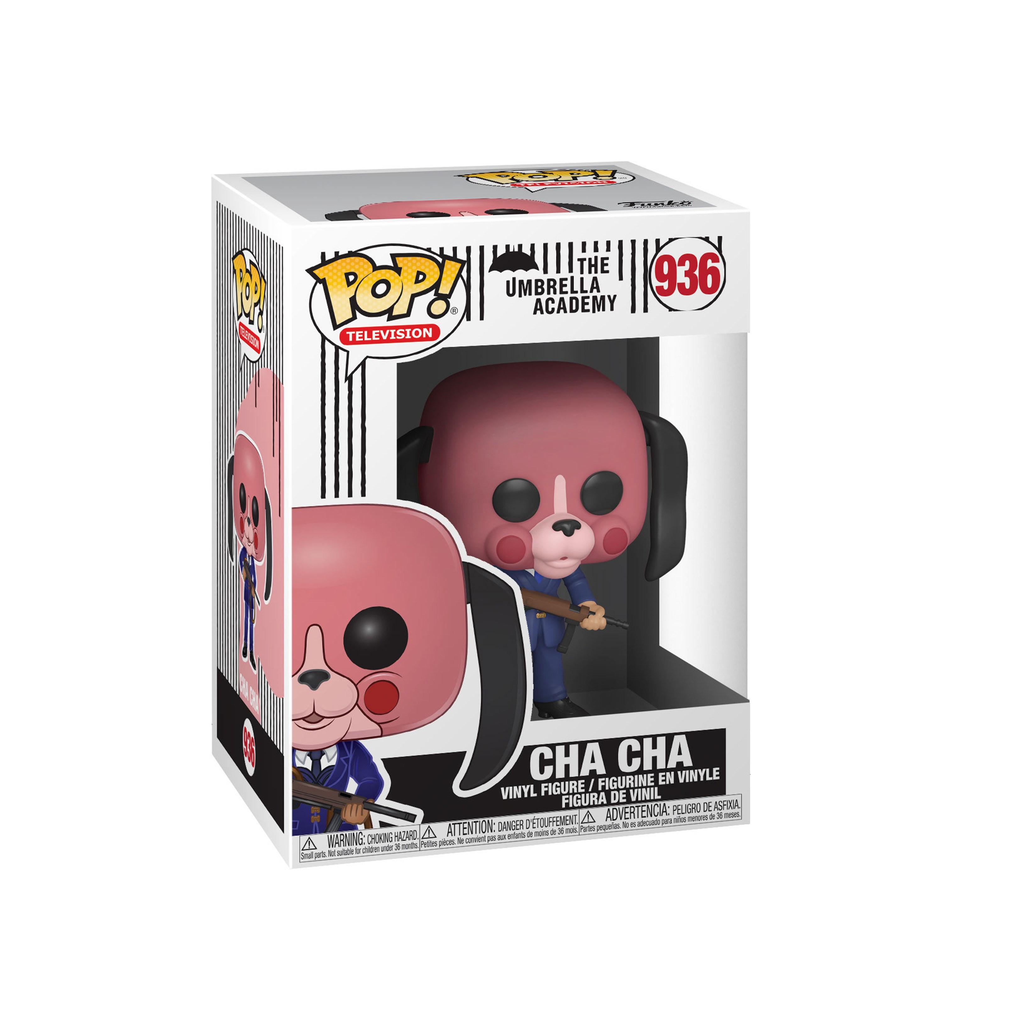 Pop Vinyl: Cha Cha With Mask (936): The Umbrella Academy - 2