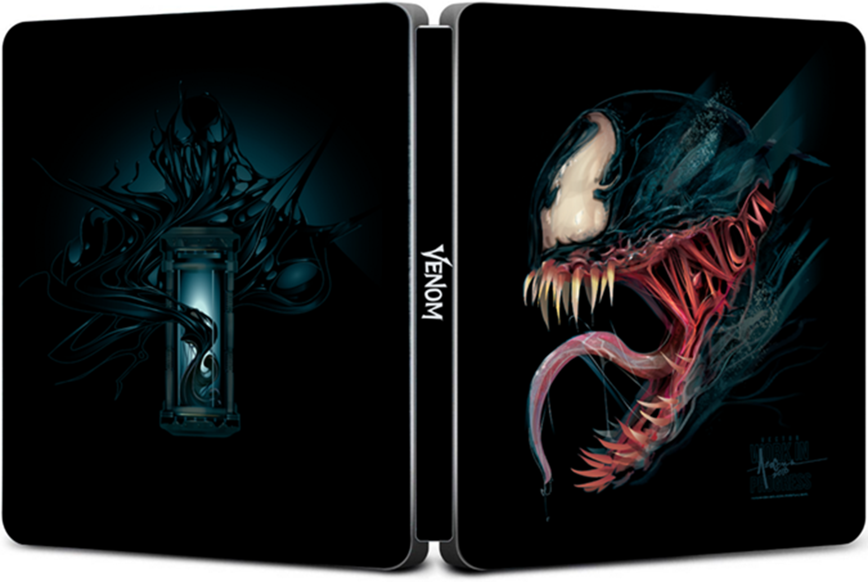 Venom (hmv Exclusive) Limited Edition 4K Ultra HD Steelbook and Pop! Vinyl Box Set - 3