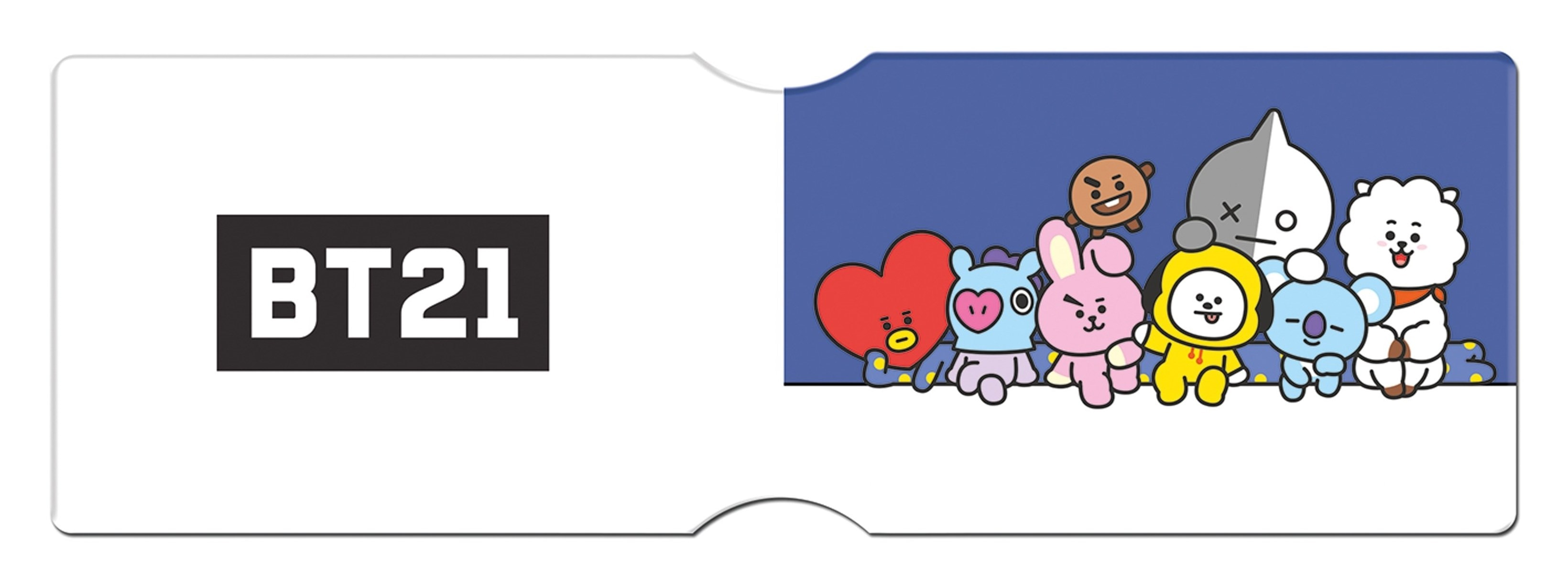 Card Holder BT21: Characters Stack - 2