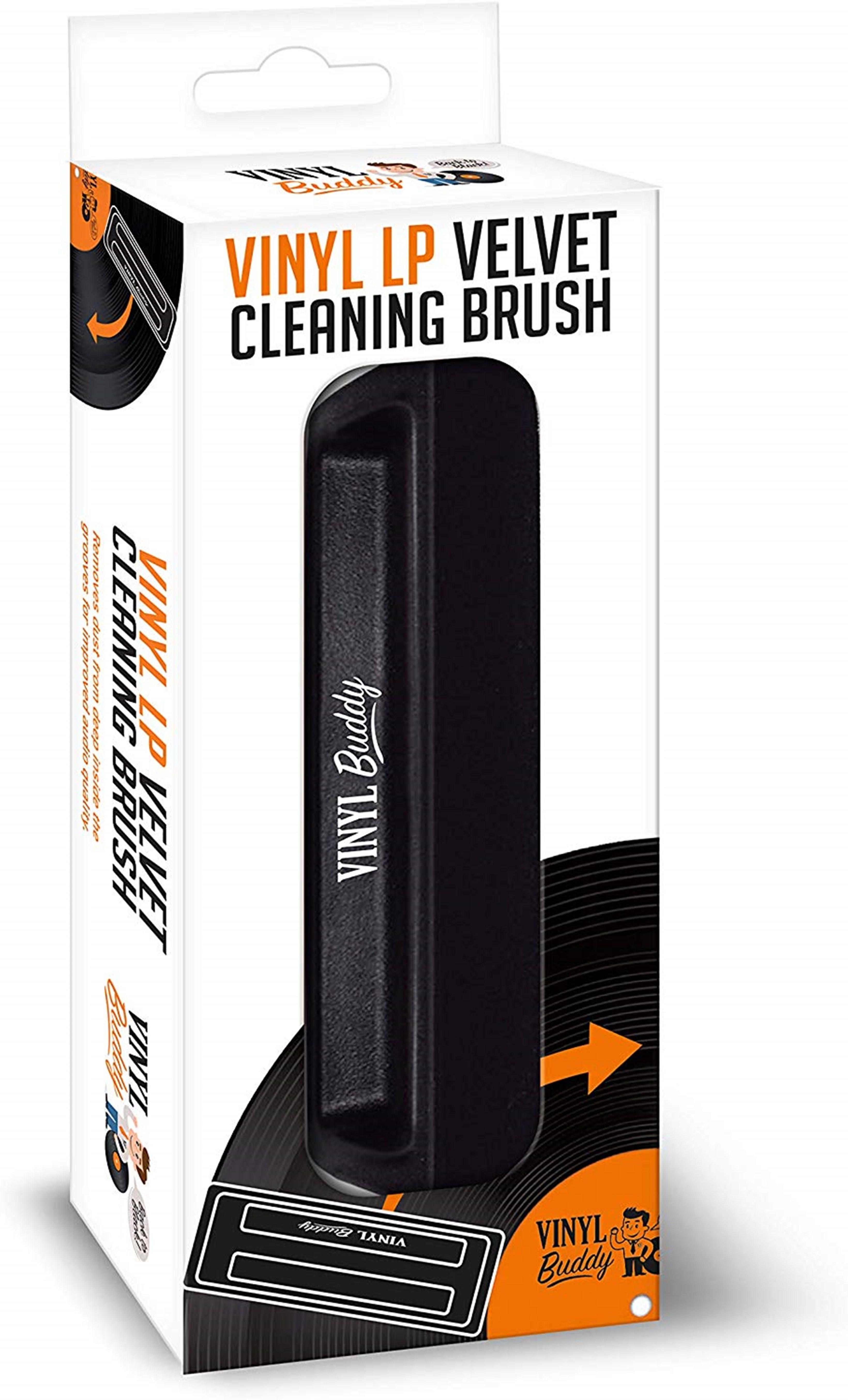 Vinyl Buddy Velvet LP Cleaning Brush - 1