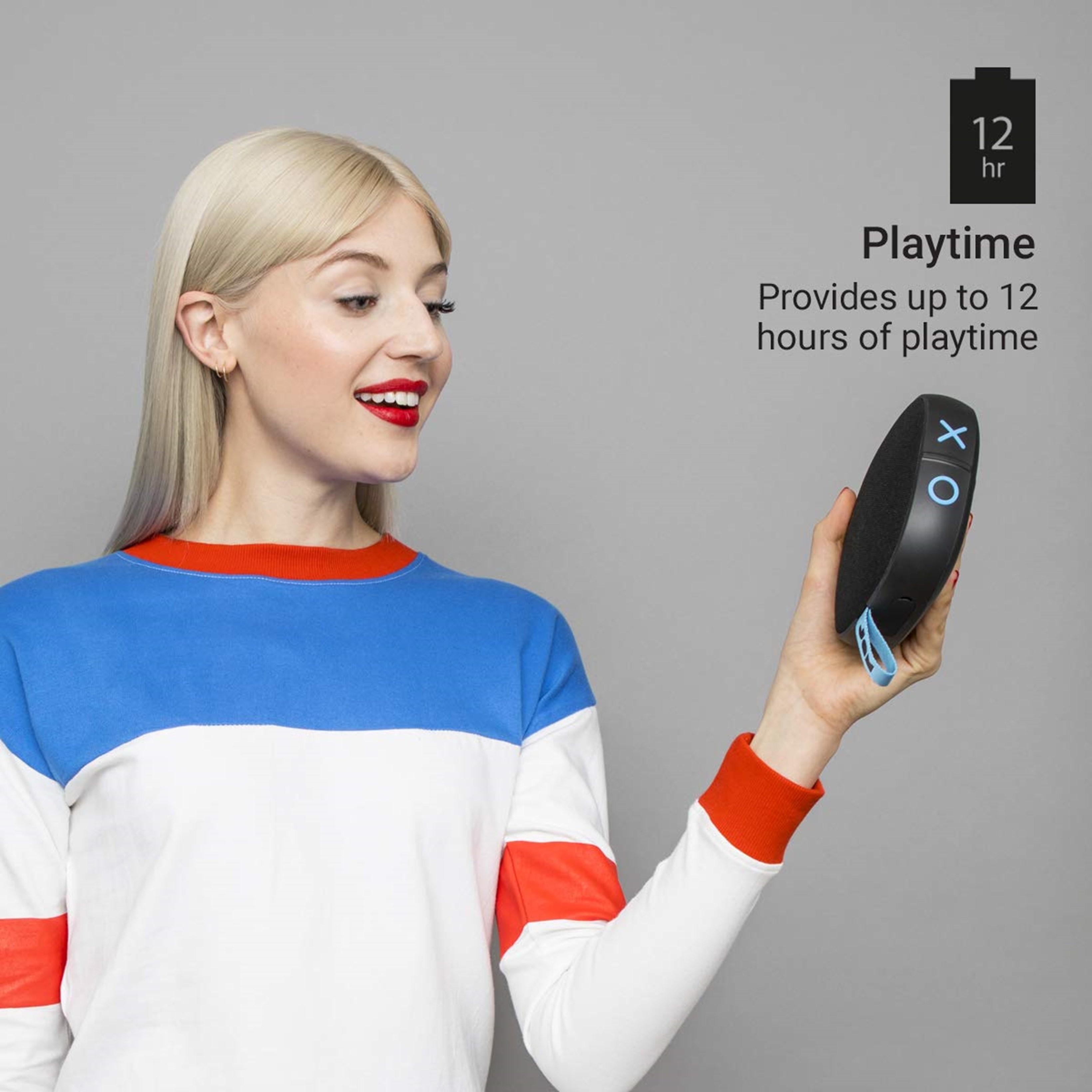 Jam Hang Tight Black Bluetooth Speaker - 3