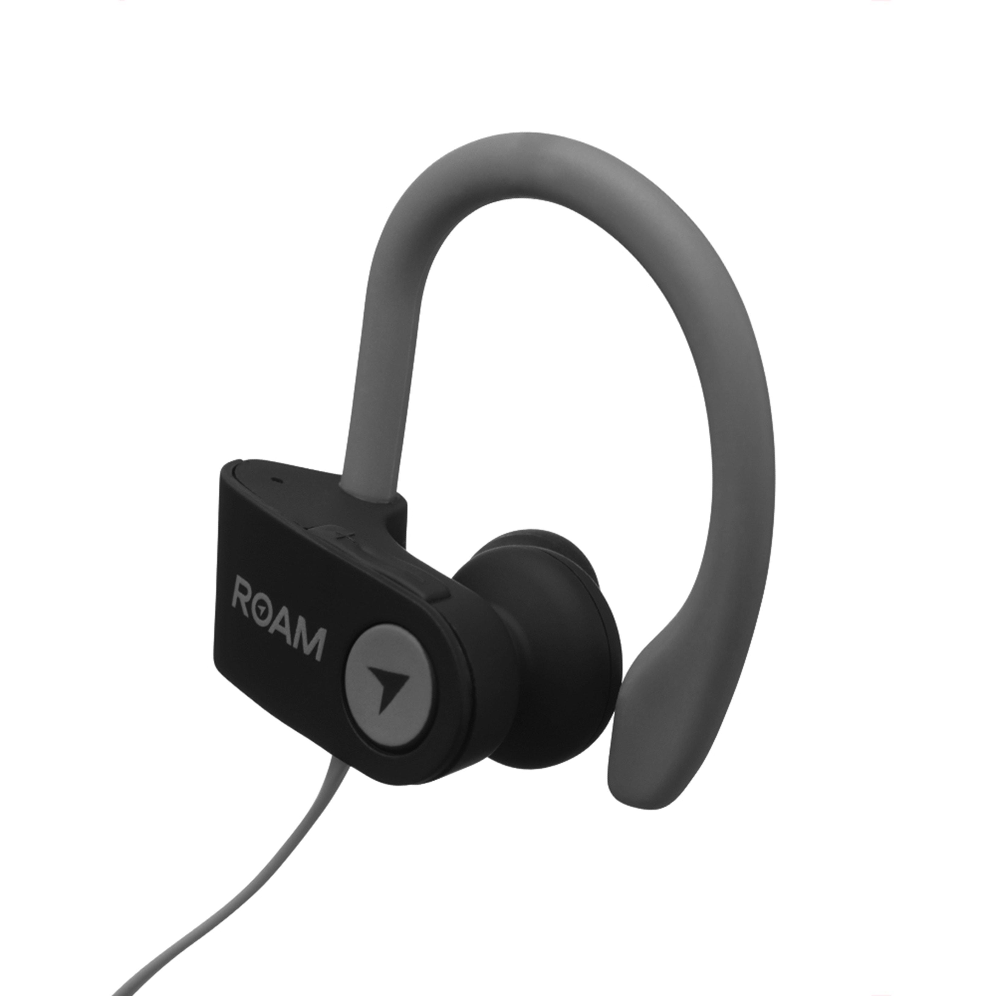 Roam Sport Ear Hook Black Bluetooth Earphones - 2