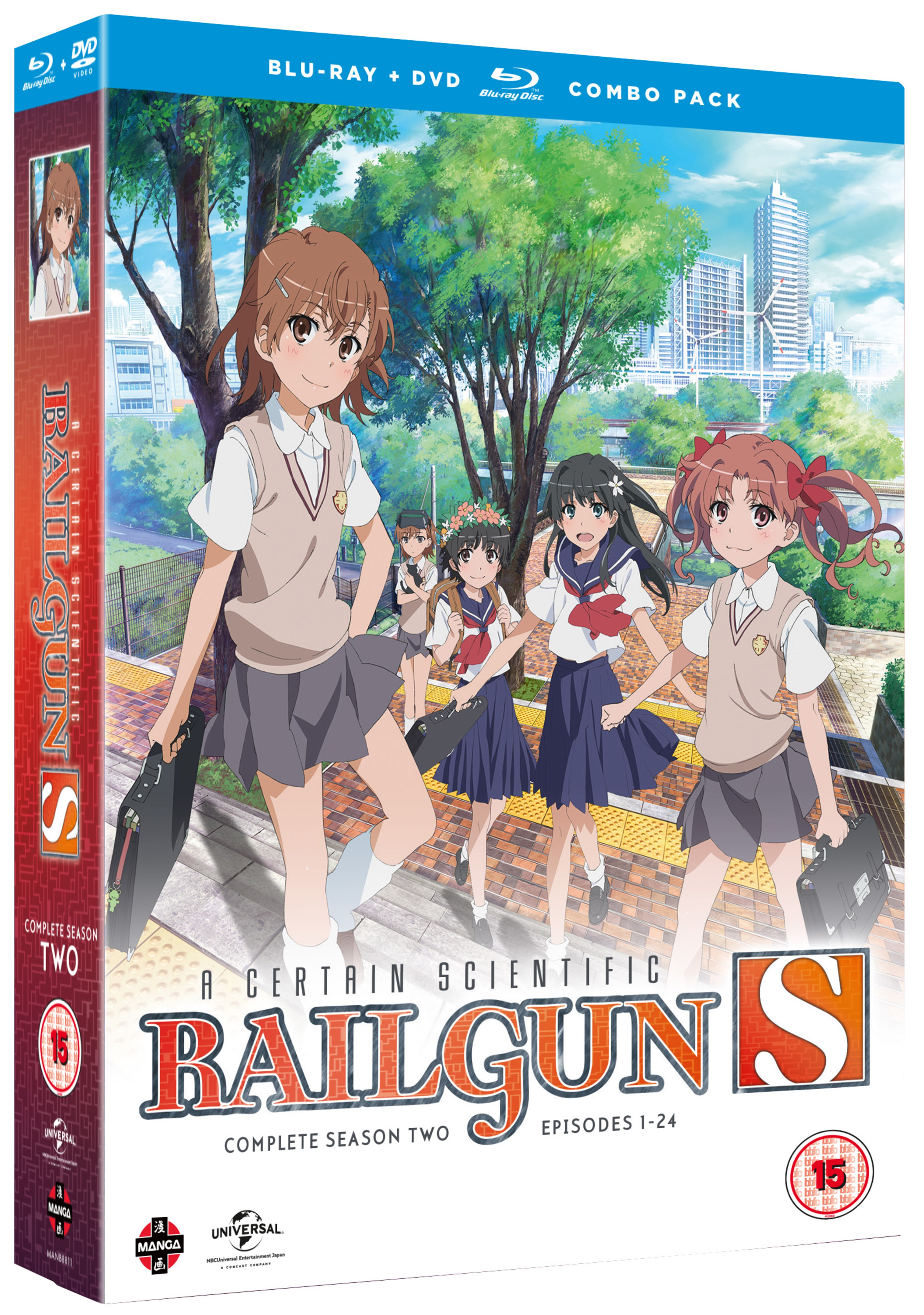 A Certain Scientific Railgun S: Complete Season 2 - 2