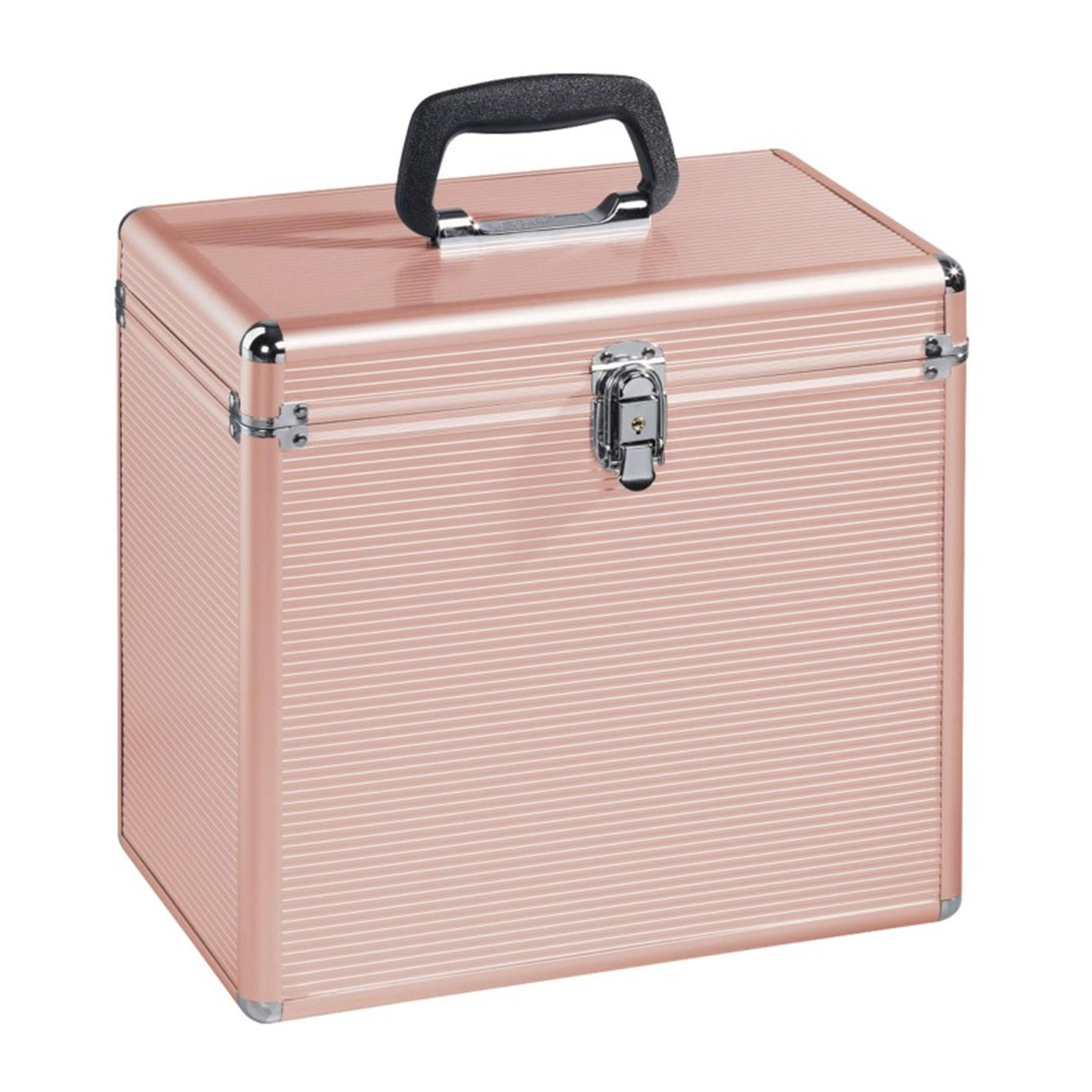 Hama Rose Gold Case for LP Storage - 1