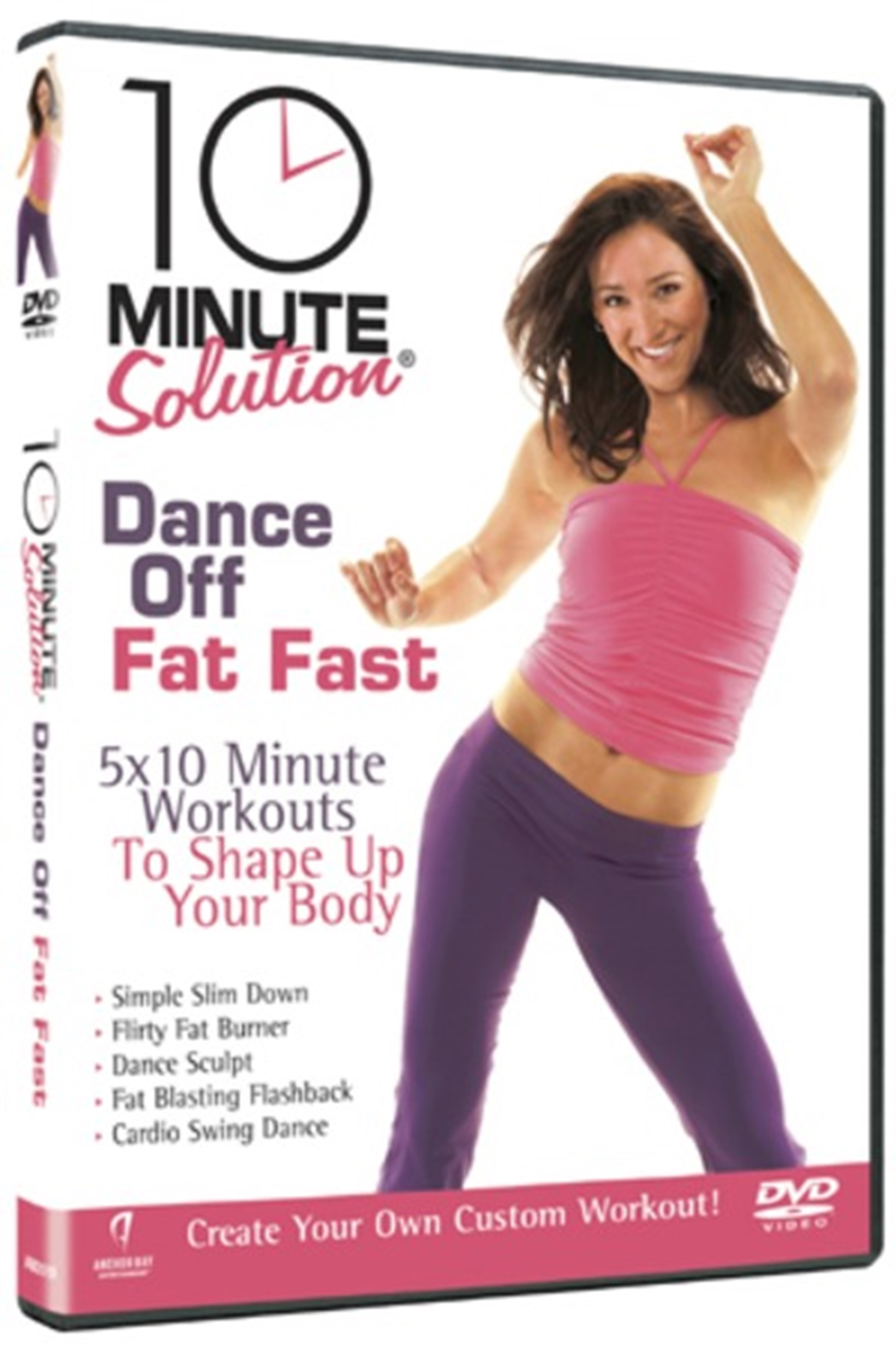 10 Minute Solution: Dance Off Fat Fast - 1