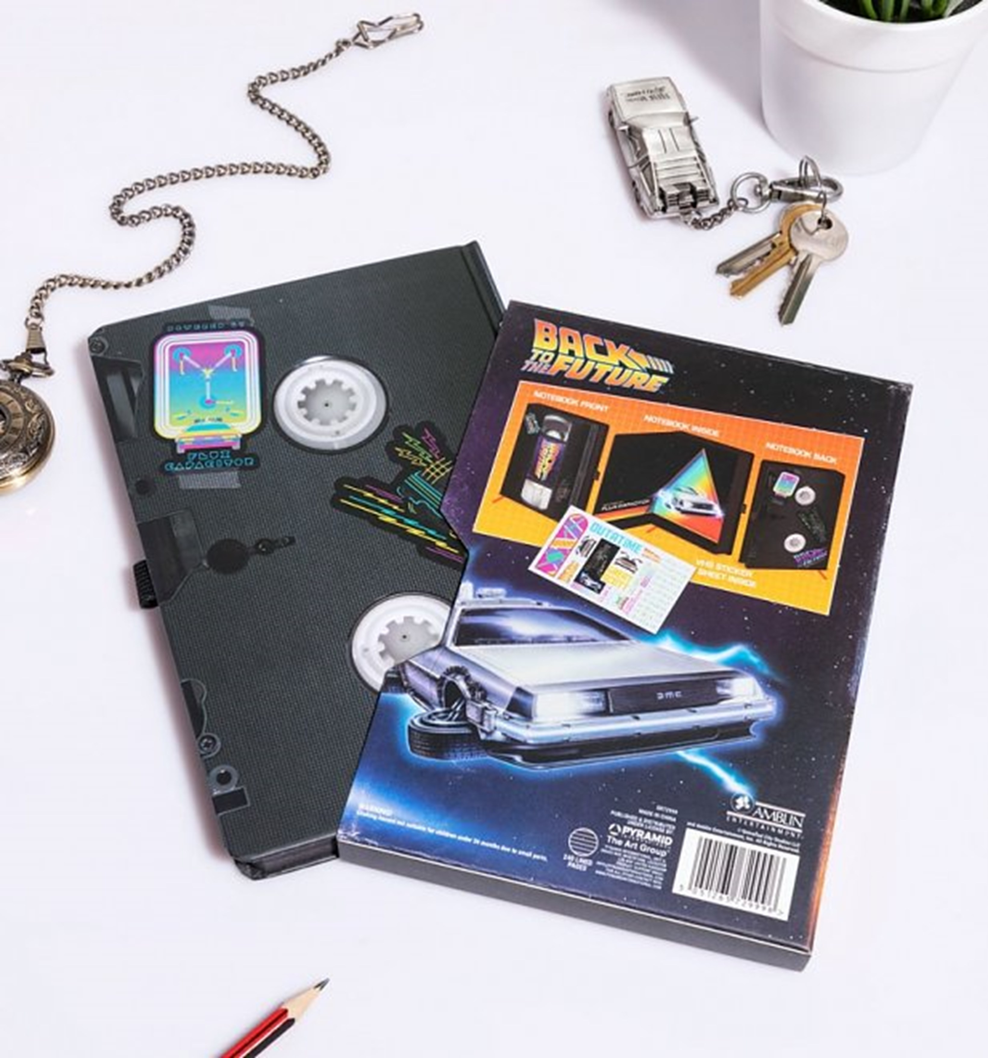 Back To The Future (Great Scott) VHS Premium A5 Notebook - 5