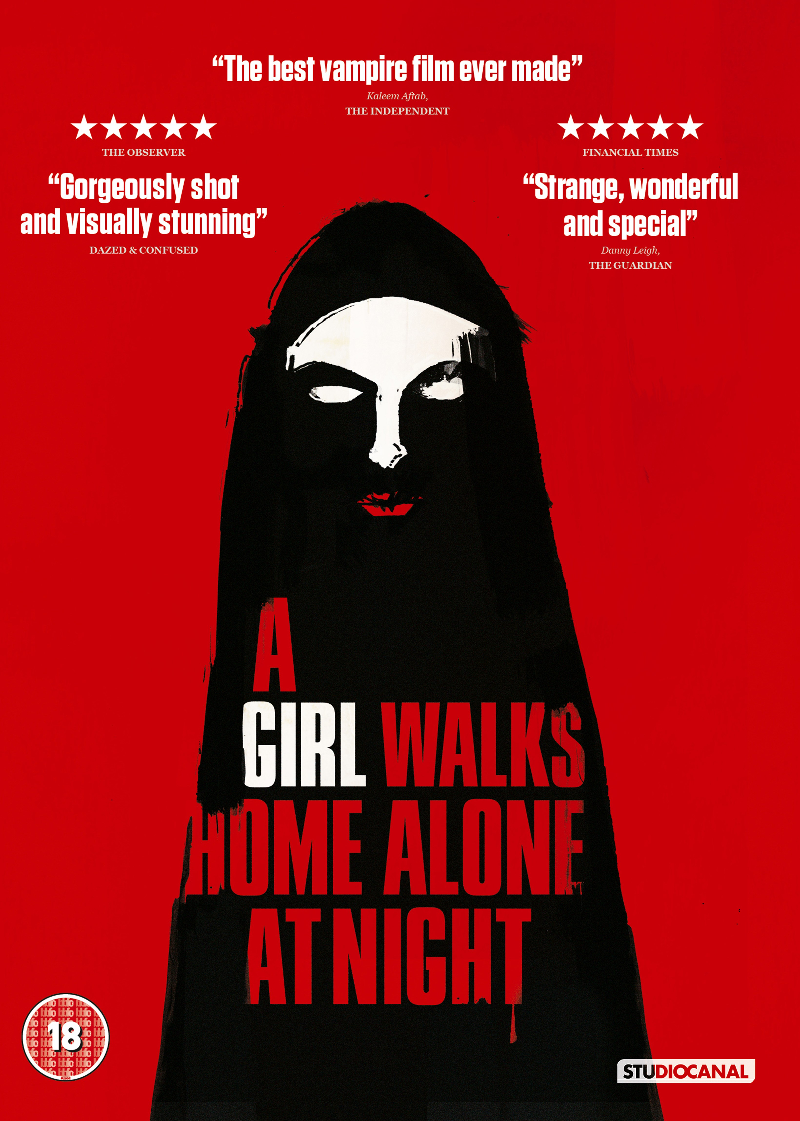 A Girl Walks Home Alone at Night - 1