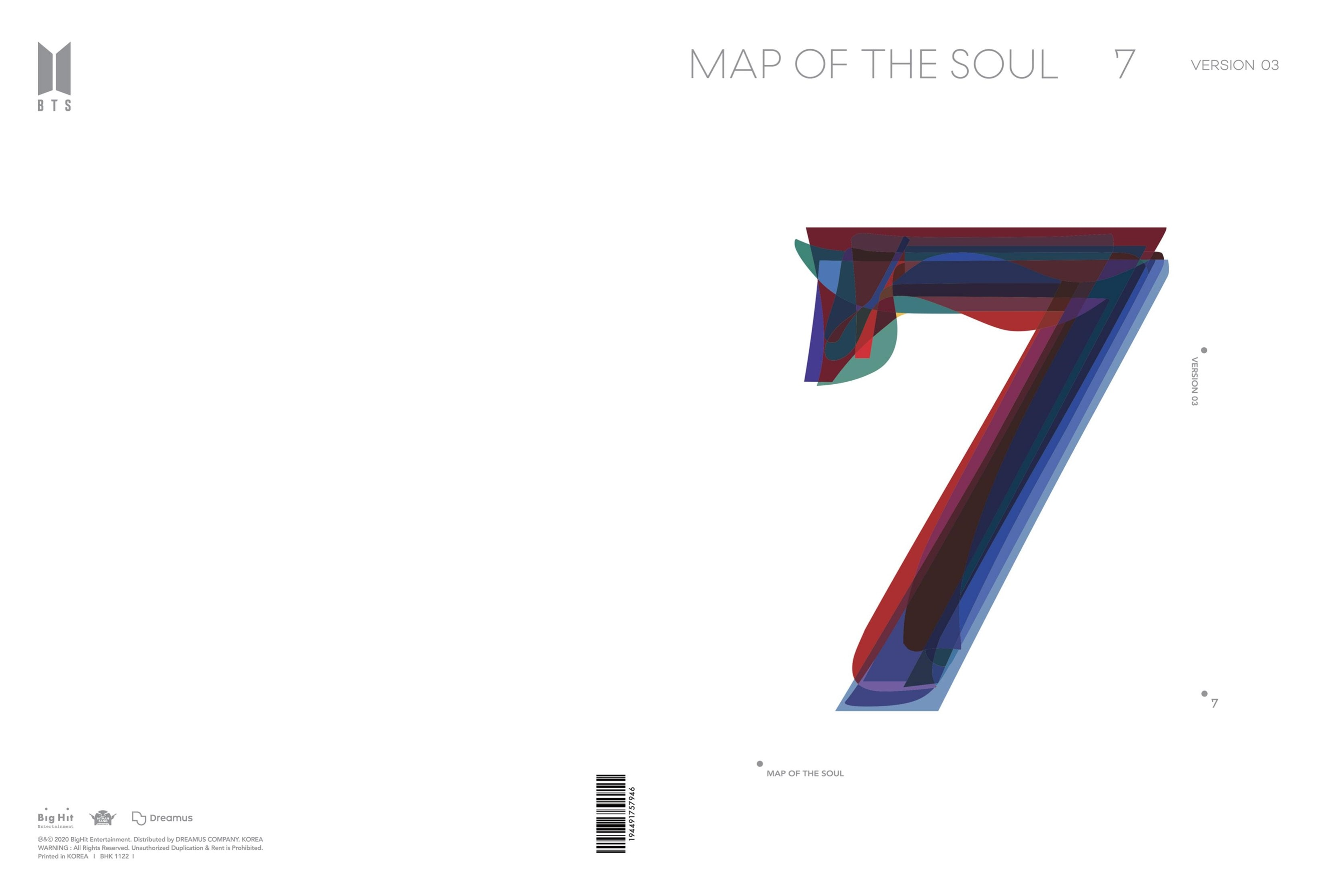 MAP OF THE SOUL: 7 (Version 3) - 2