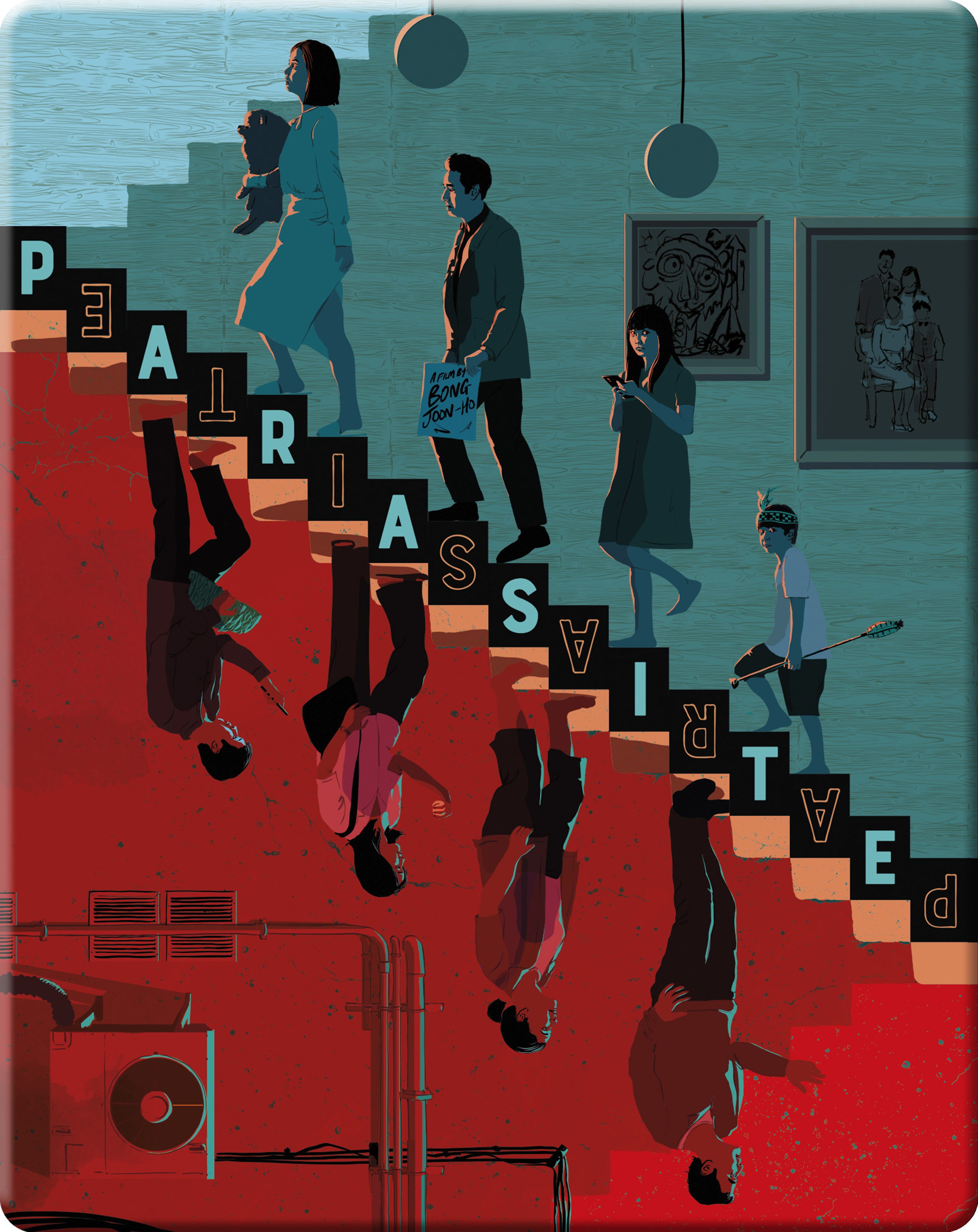 Parasite Limited Edition Blu-ray Steelbook - 1