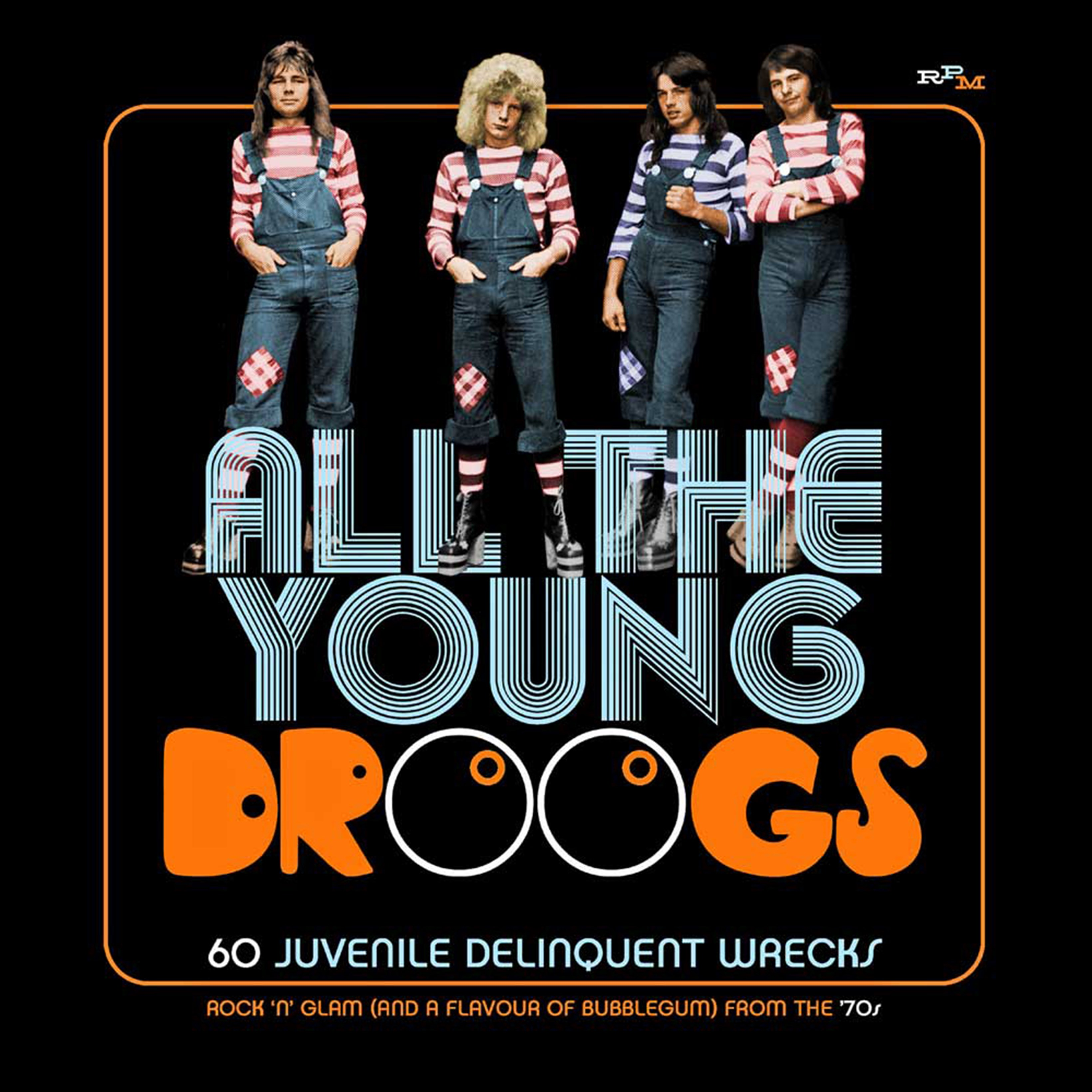 All the Young Droogs: 60 Juvenile Delinquent Wrecks - 1