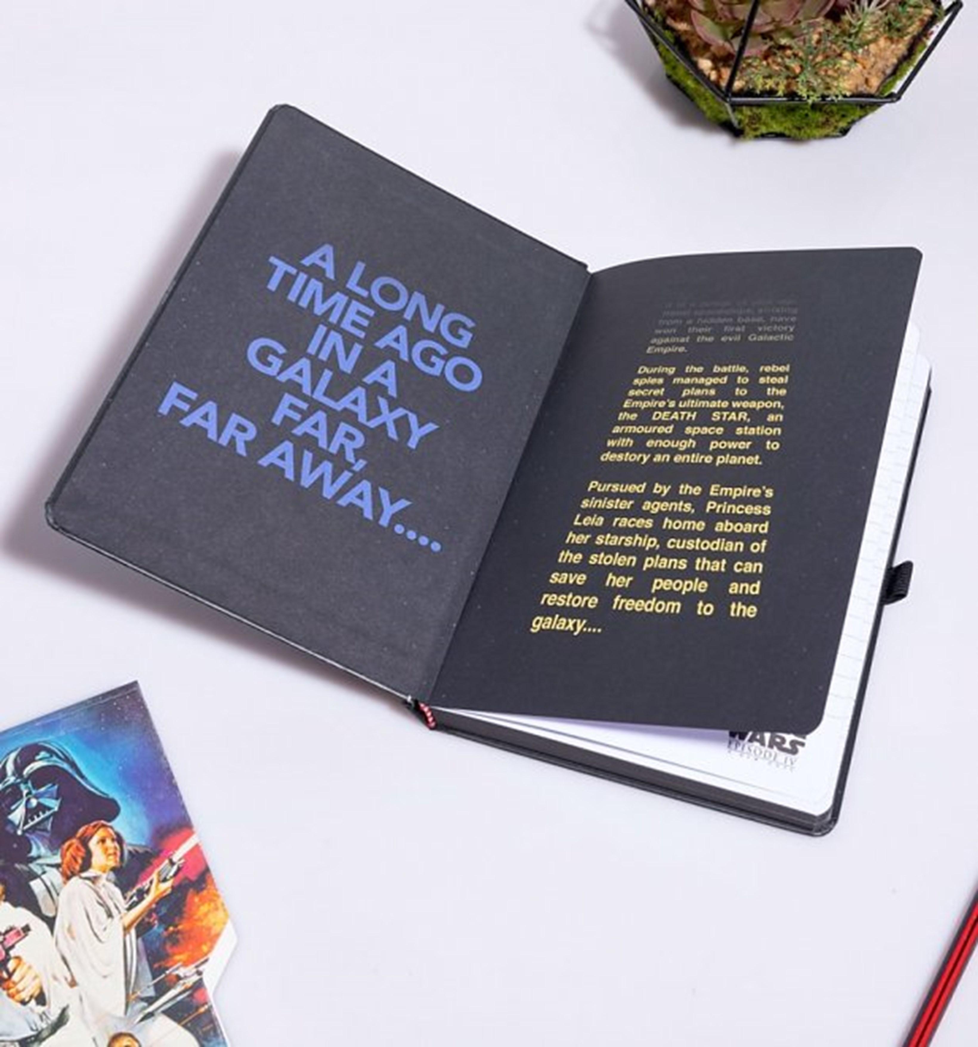 Star Wars (A New Hope) VHS Premium A5 Notebook - 3