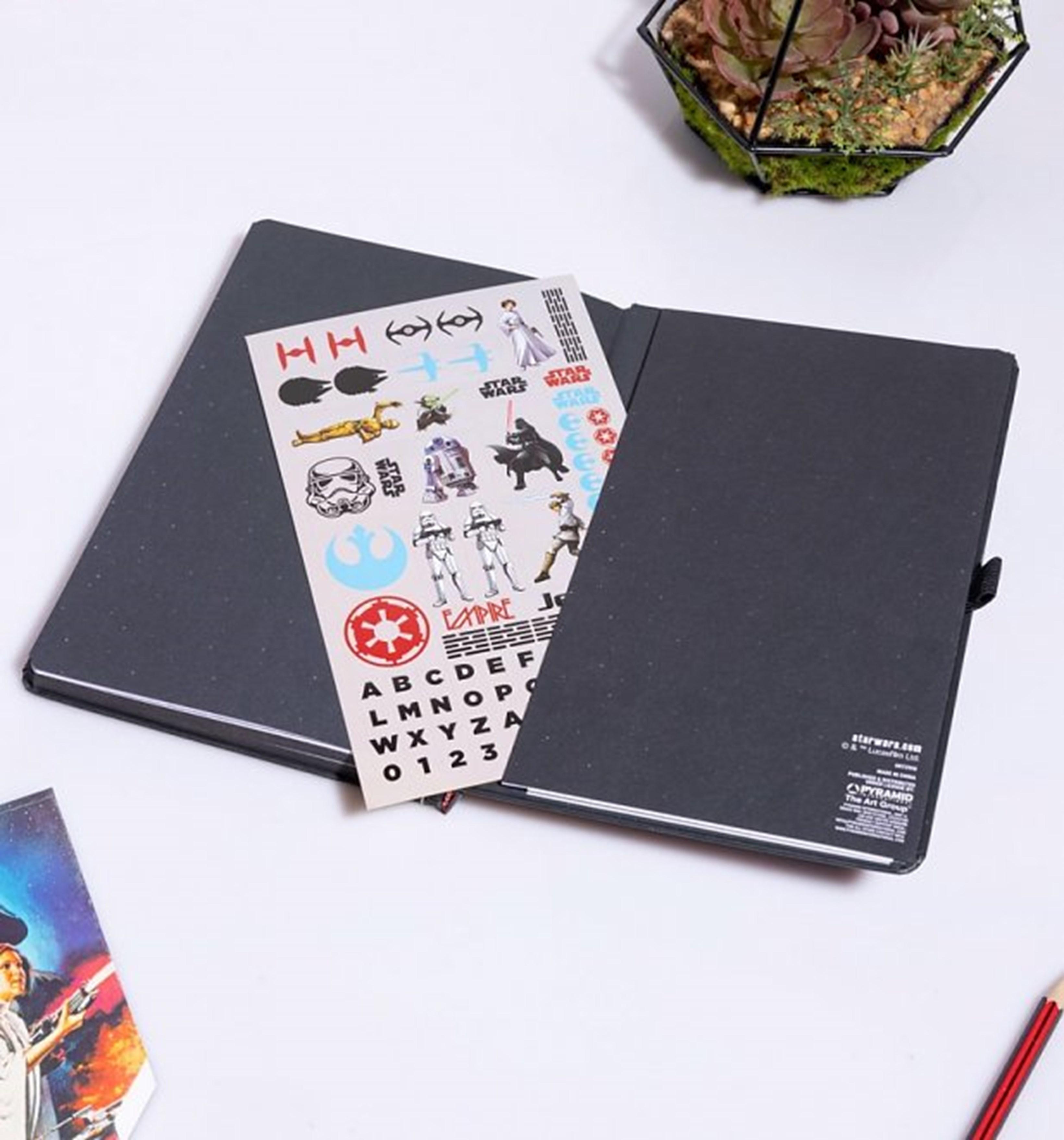 Star Wars (A New Hope) VHS Premium A5 Notebook - 4