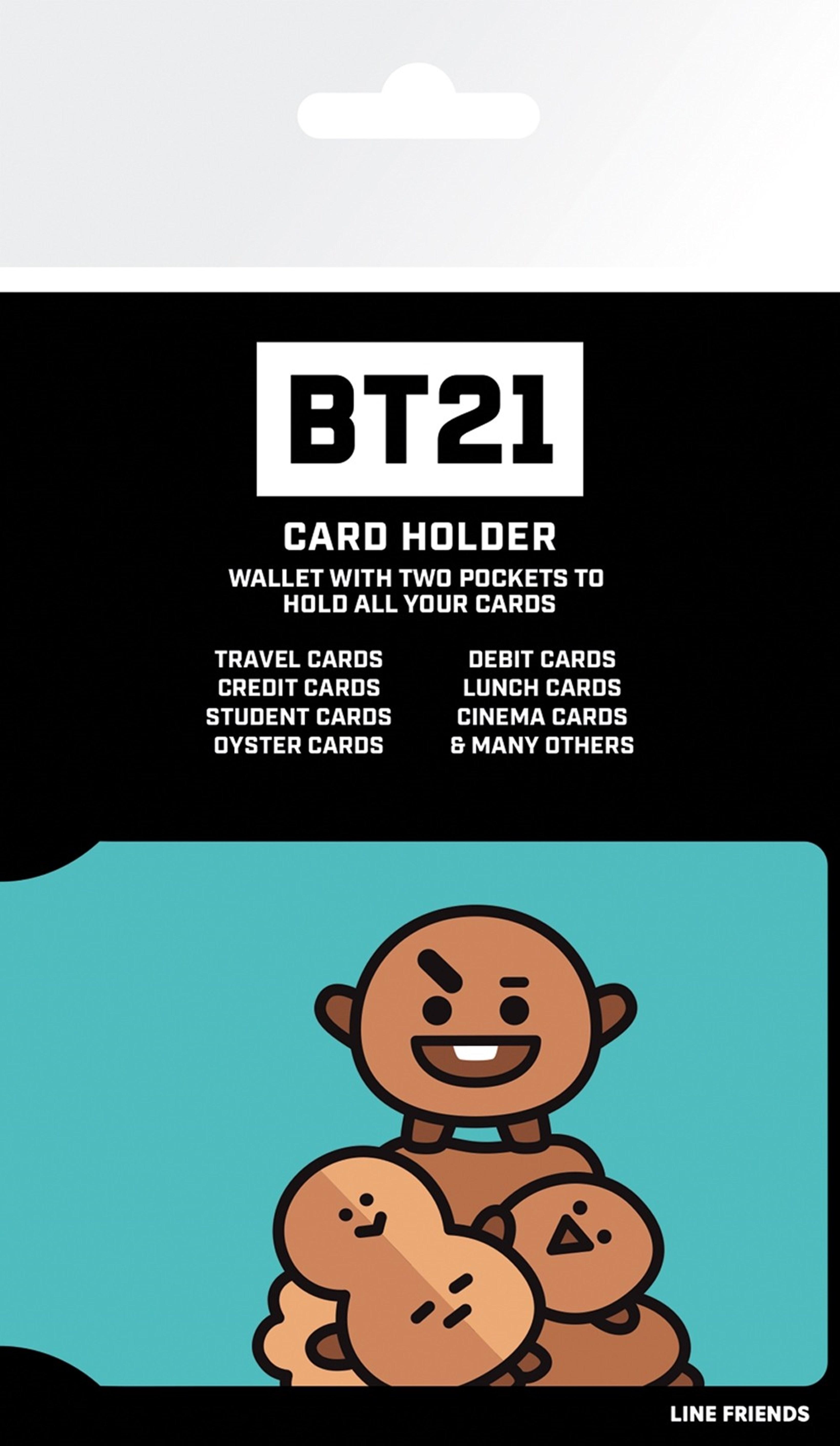 Card Holder BT21: Shooky - 1