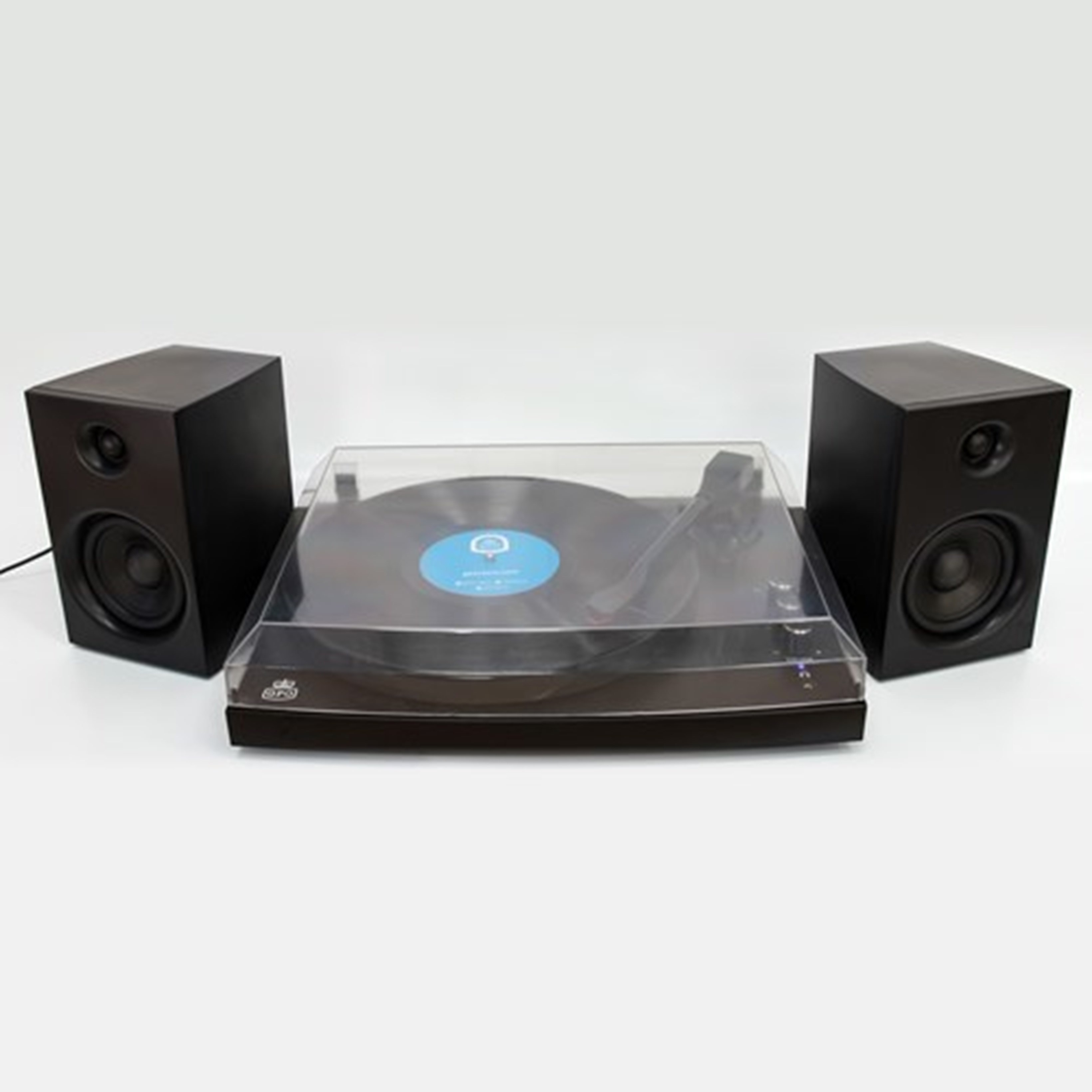 GPO Piccadilly Matte Black Turntable With Speakers (hmv Exclusive) - 3