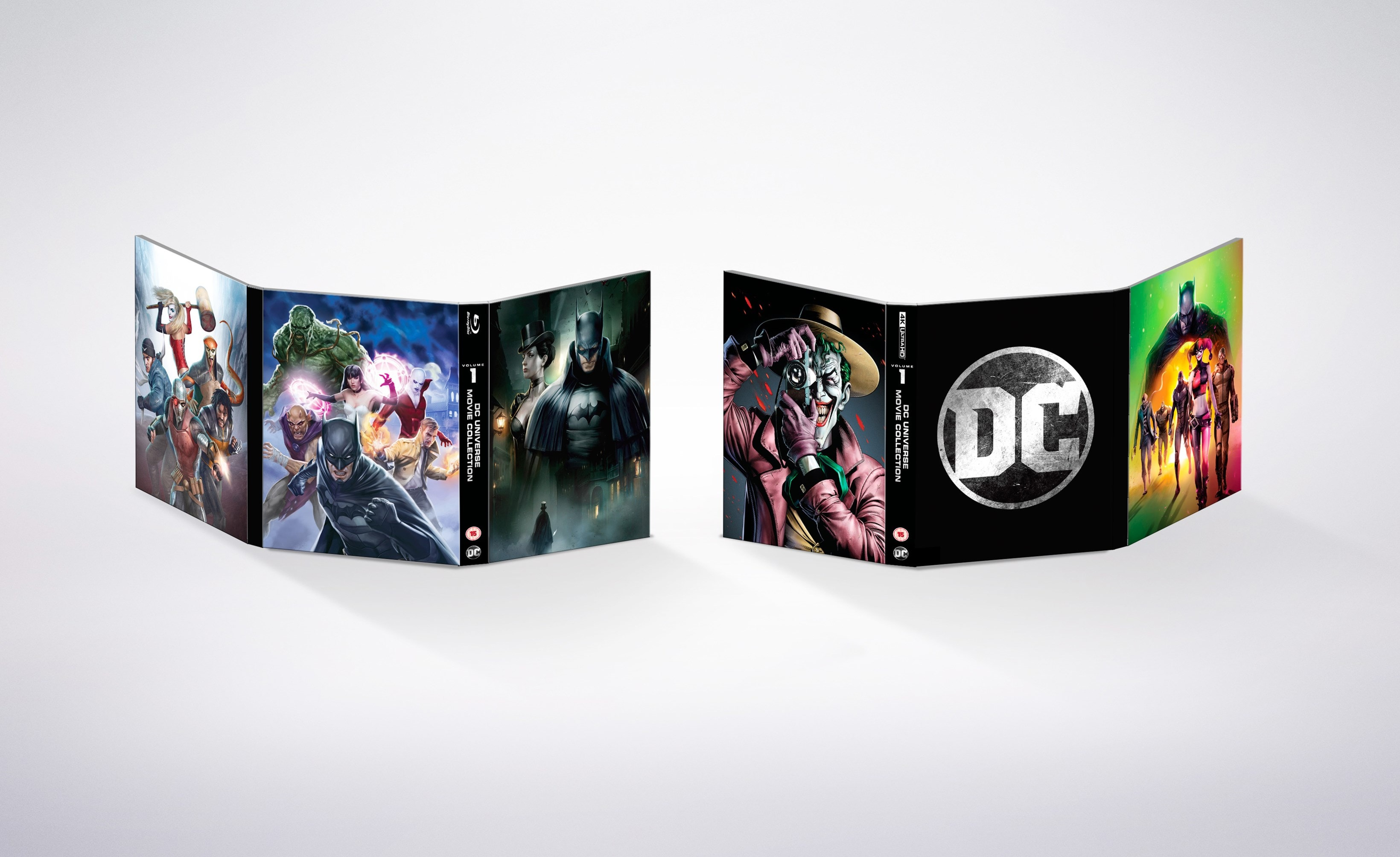 DC Animated Film Collection: Volume 1 - 4
