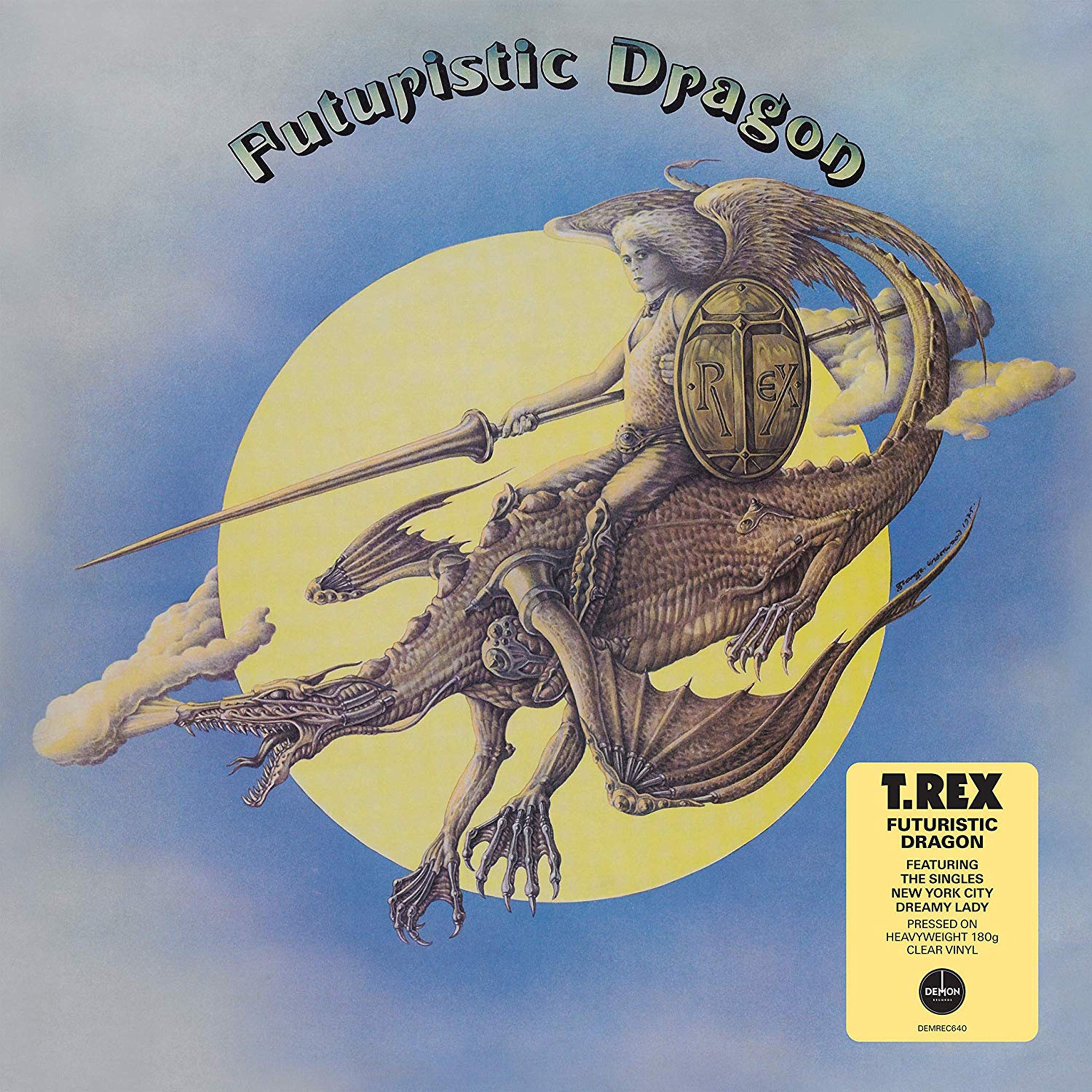 Futuristic Dragon - Limited Edition Clear Vinyl - 1