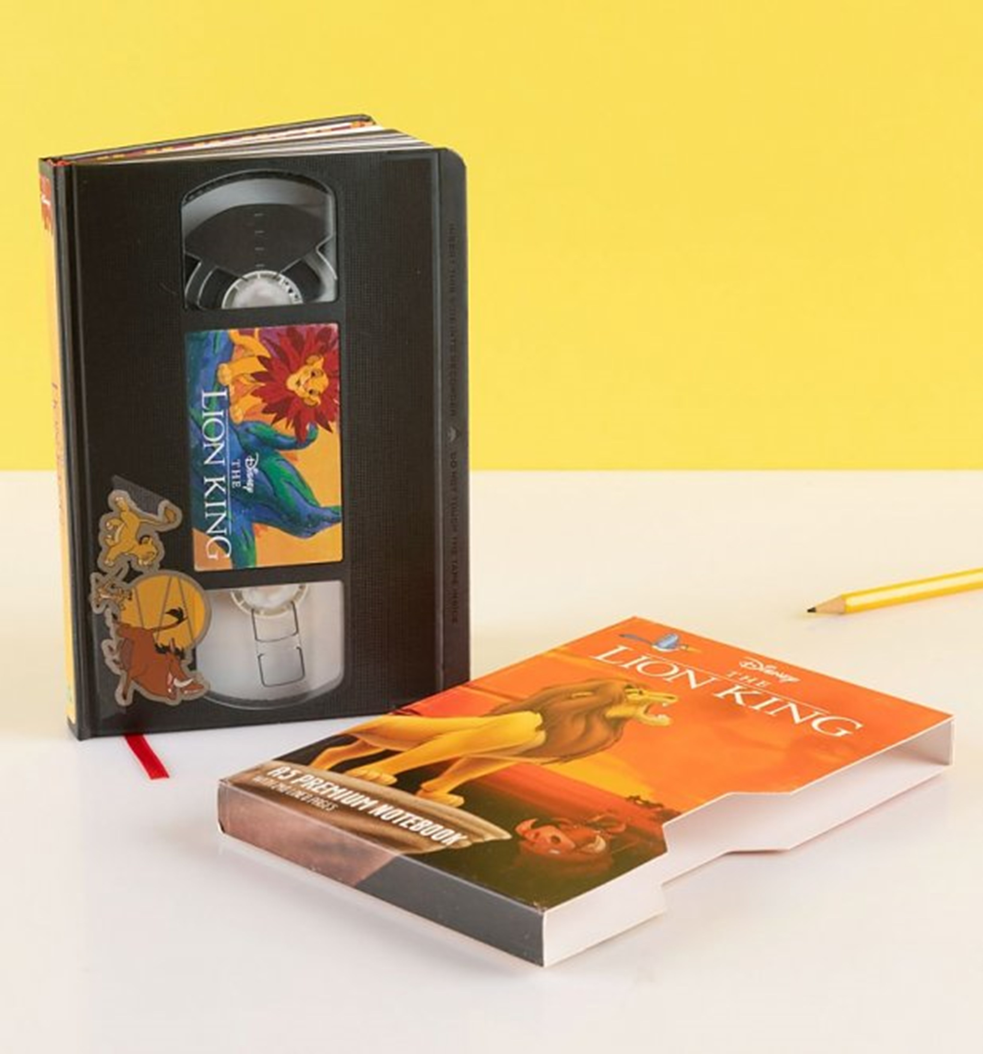 The Lion King (Circle Of Life) VHS Premium A5 Notebook - 1