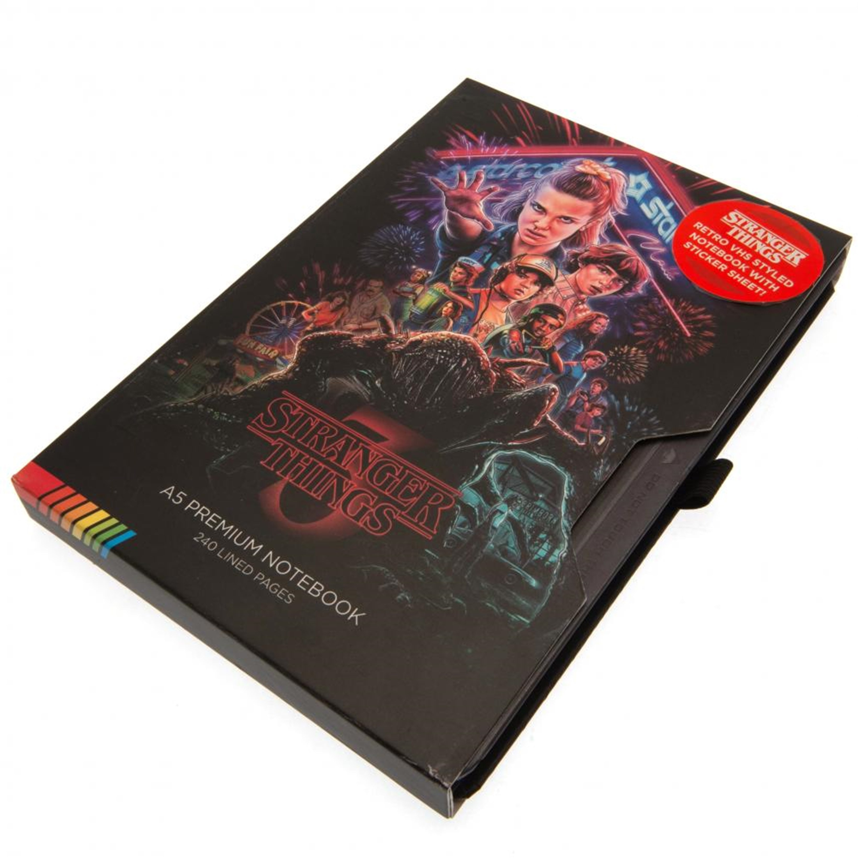 Stranger Things (S3) VHS Premium A5 Notebook - 1