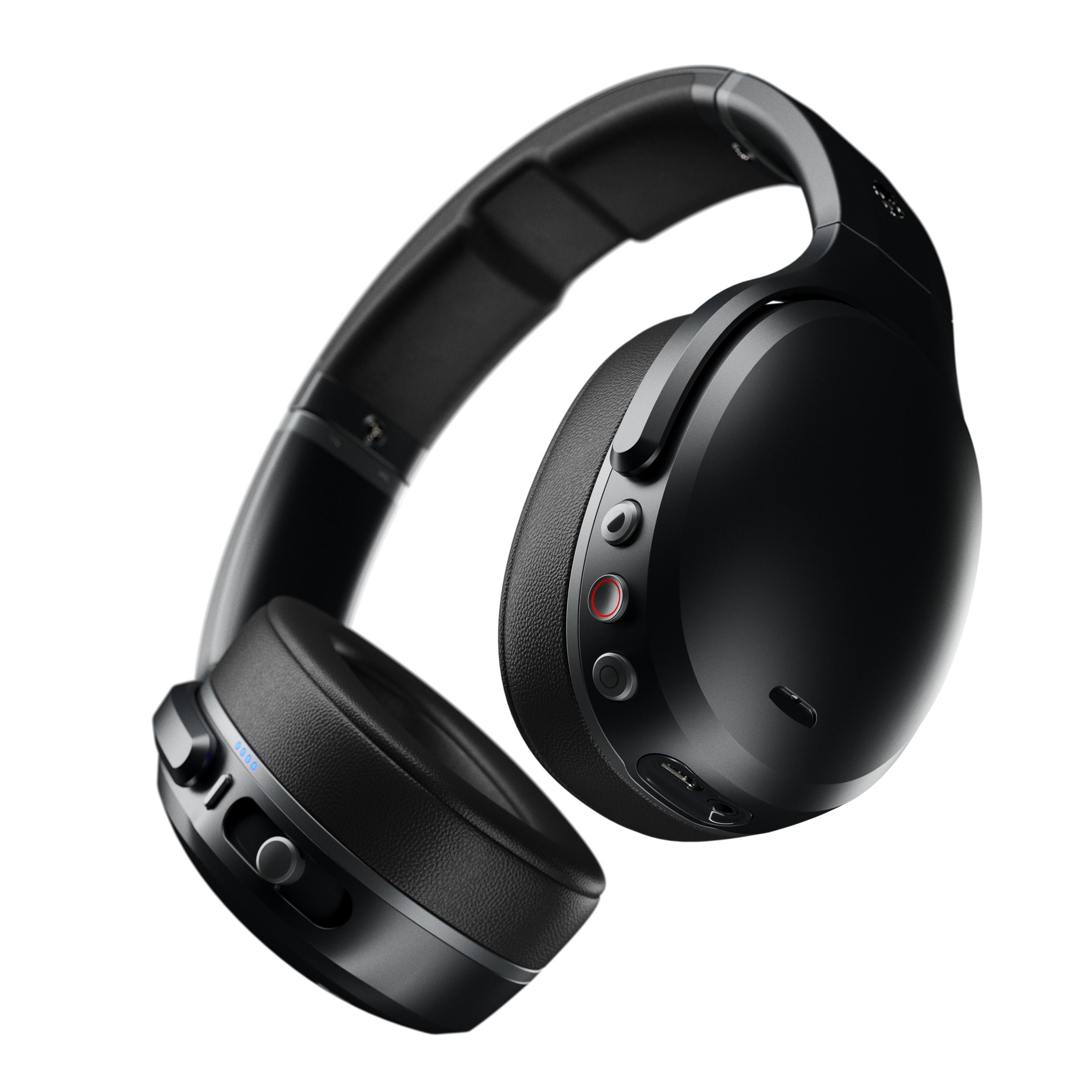 Skullcandy Crusher Black/Black/Grey Active Noise Cancelling Headphones - 1