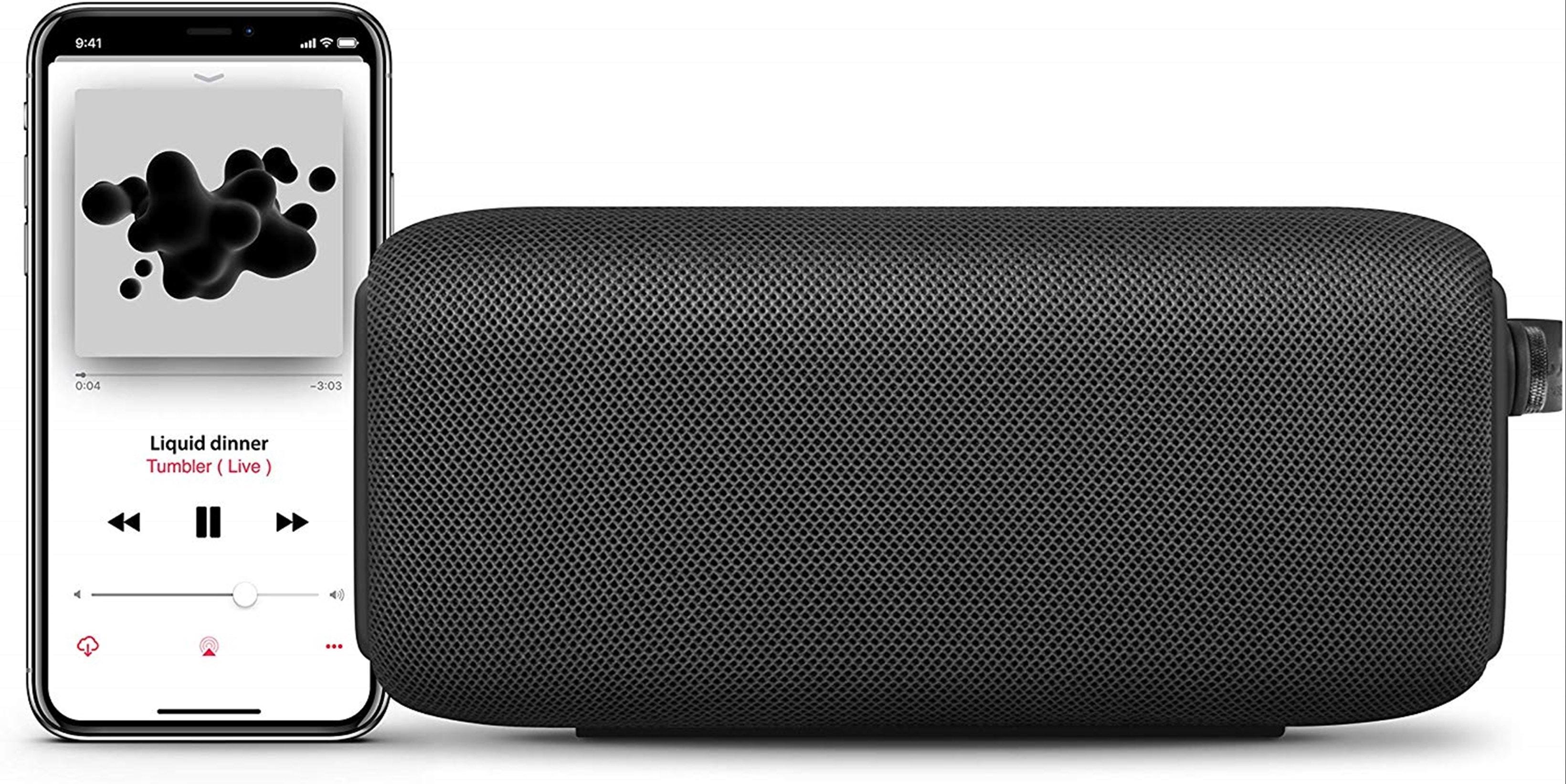 Fresh n Rebel Bold M Storm Grey Bluetooth Speaker - 2