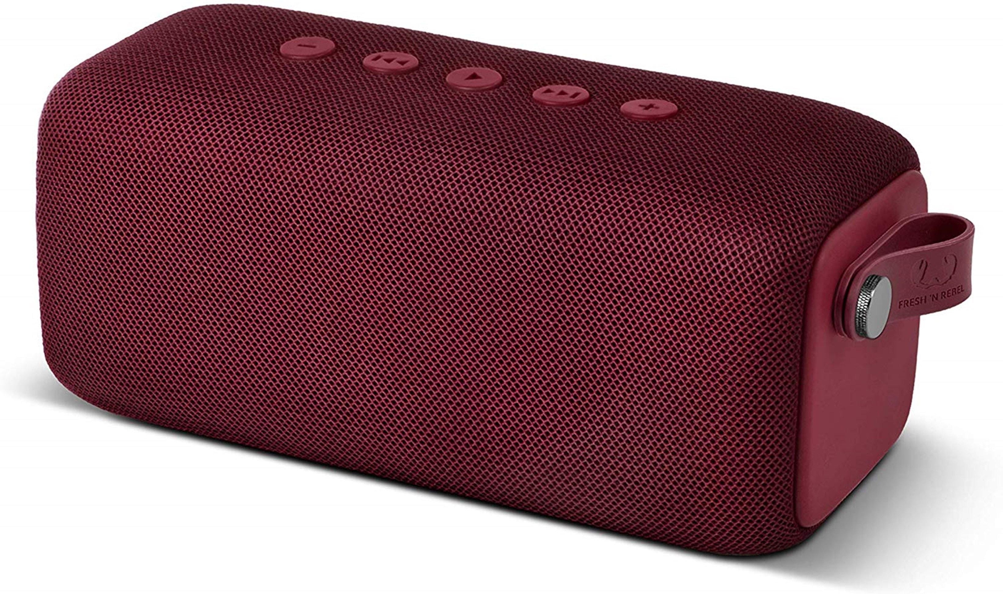 Fresh n Rebel Bold M Ruby Red Bluetooth Speaker - 1