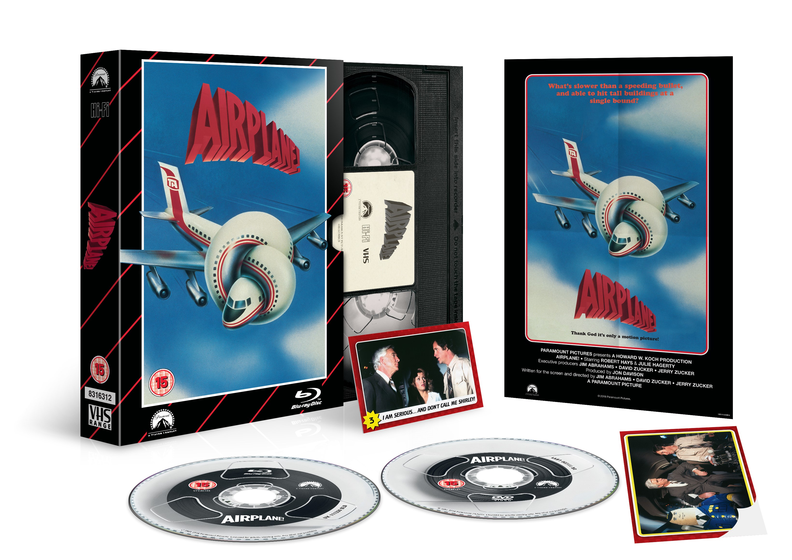 Airplane! - VHS Range (hmv Exclusive) - 3