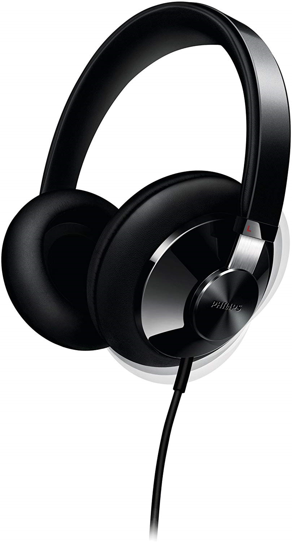Philips SHP6000 Black Headphones - 1