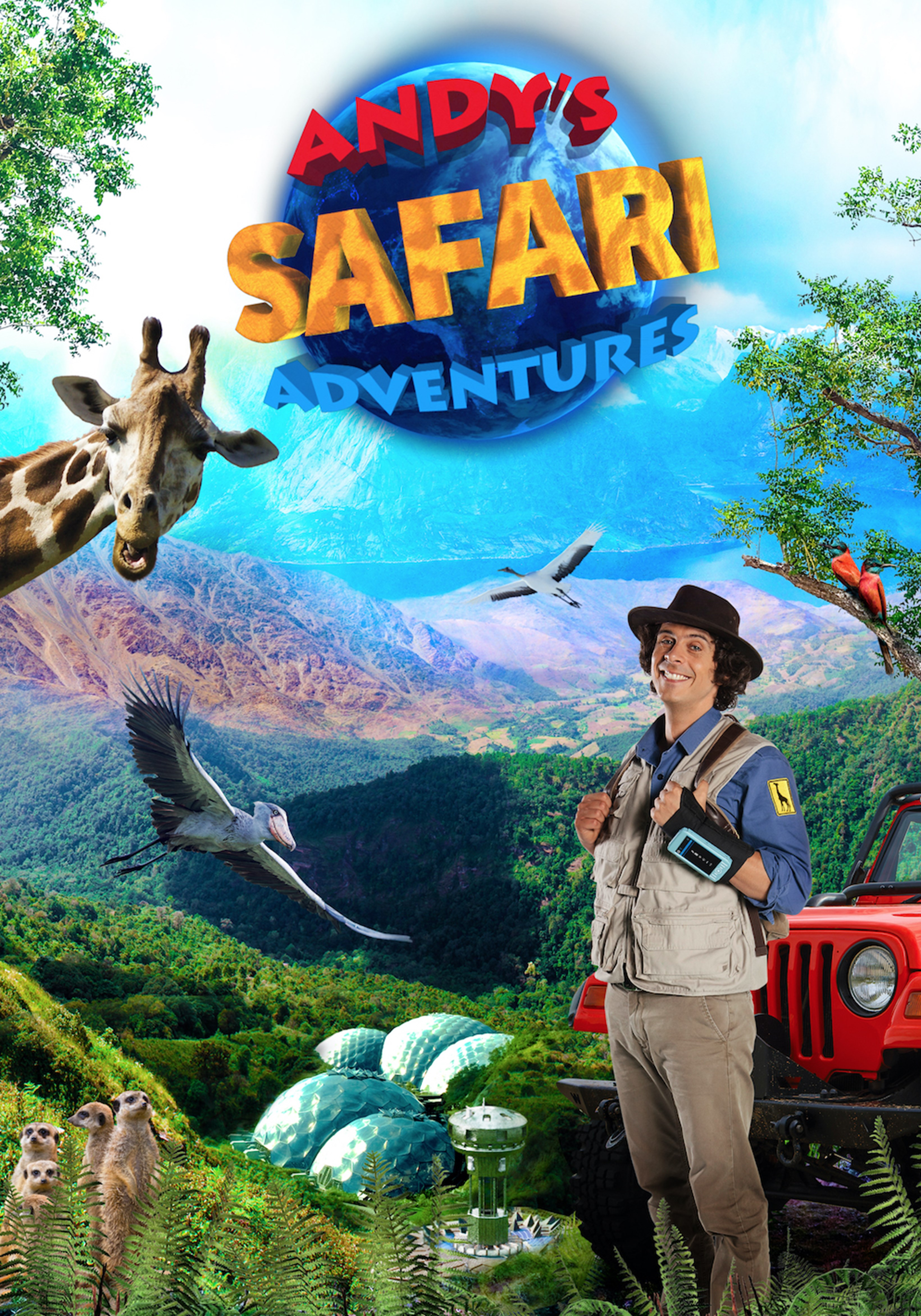 Andy's Safari Adventures: Lions, Giraffes & Other Adventures - 1