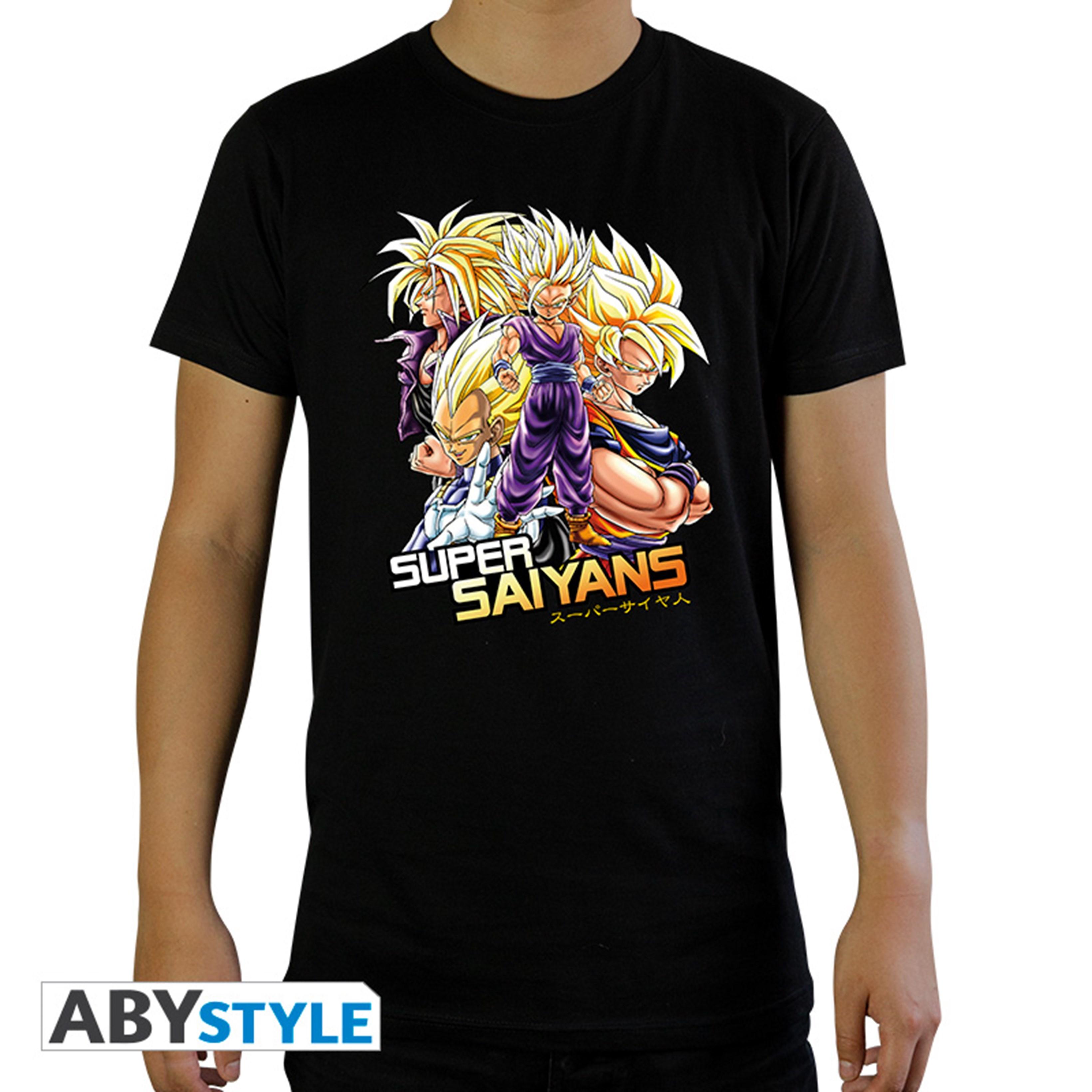 Dragon Ball Z Saiyans (Small) - 1