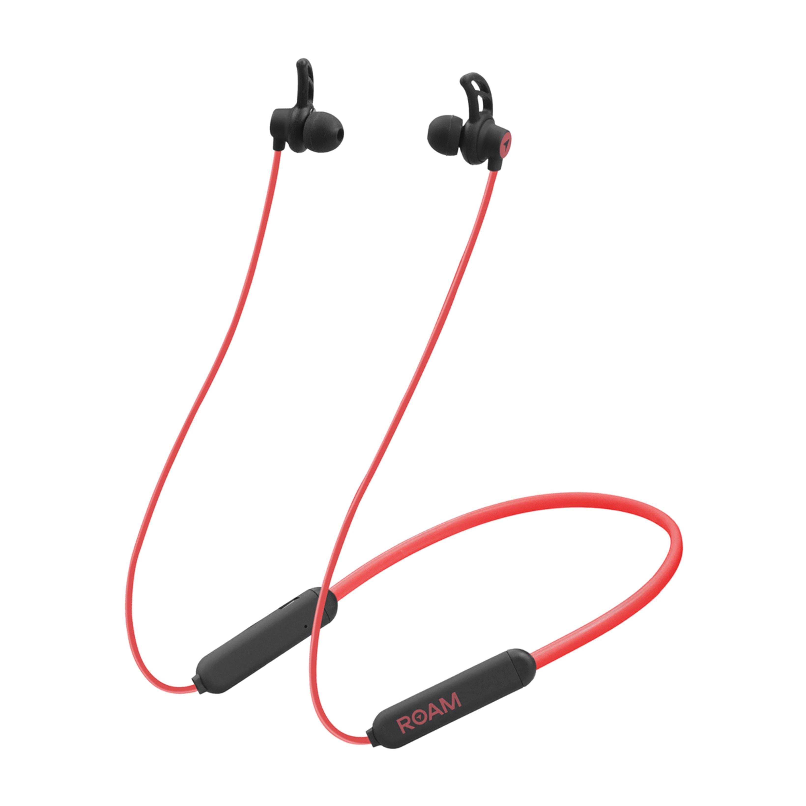 Roam Sports Pro Red Bluetooth Earphones - 3