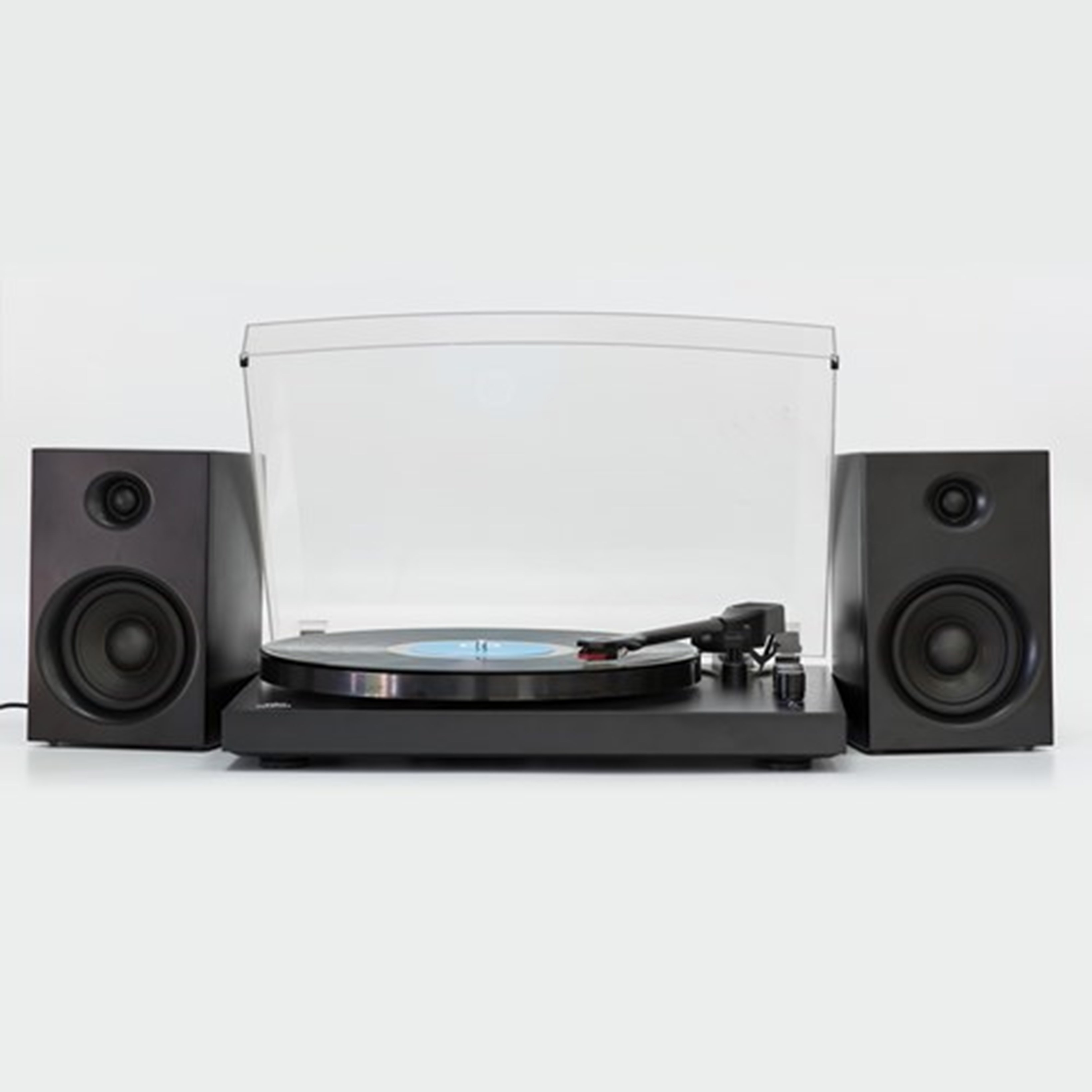 GPO Piccadilly Matte Black Turntable With Speakers (hmv Exclusive) - 2