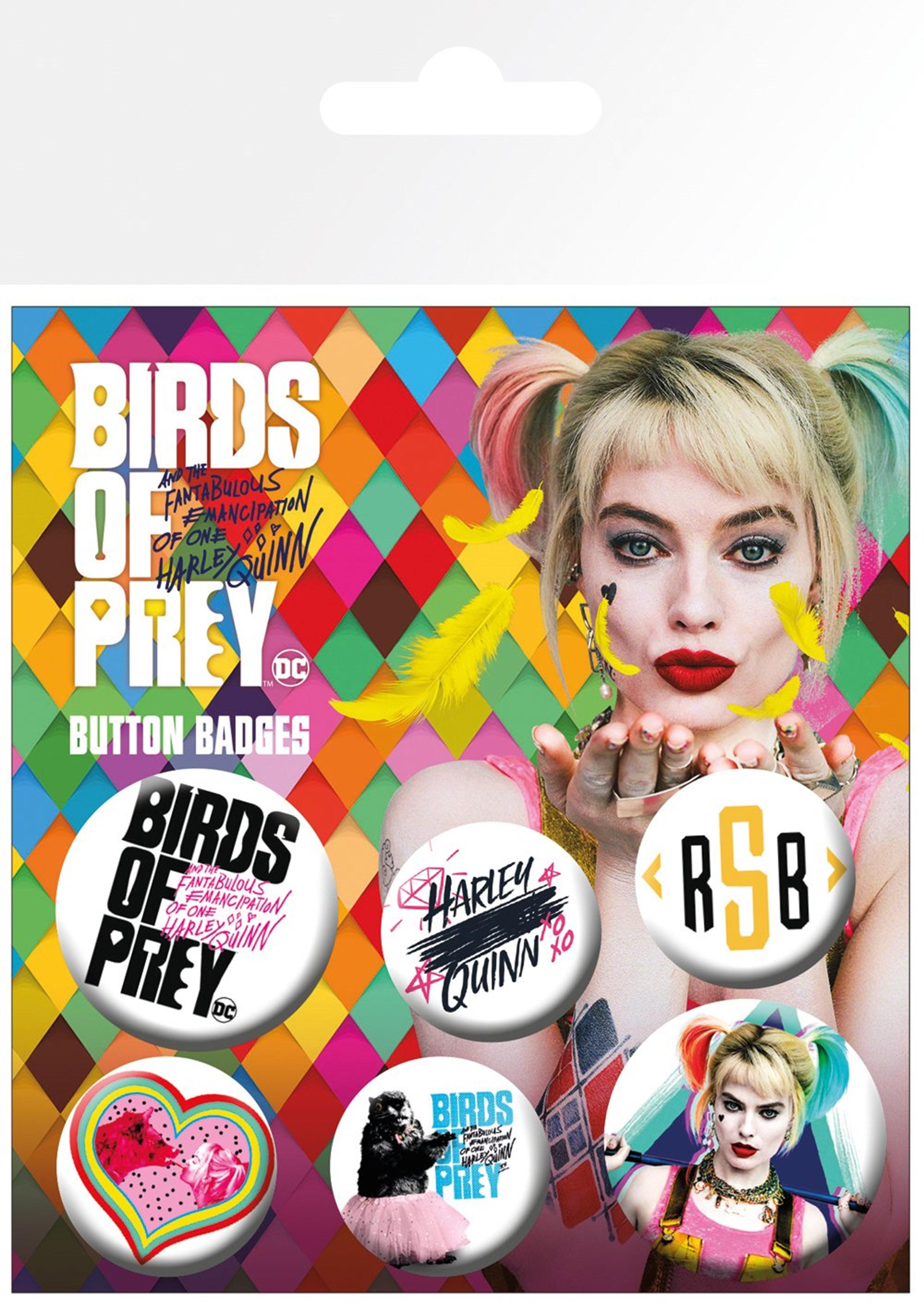 Birds Of Prey Badge Pack - 1