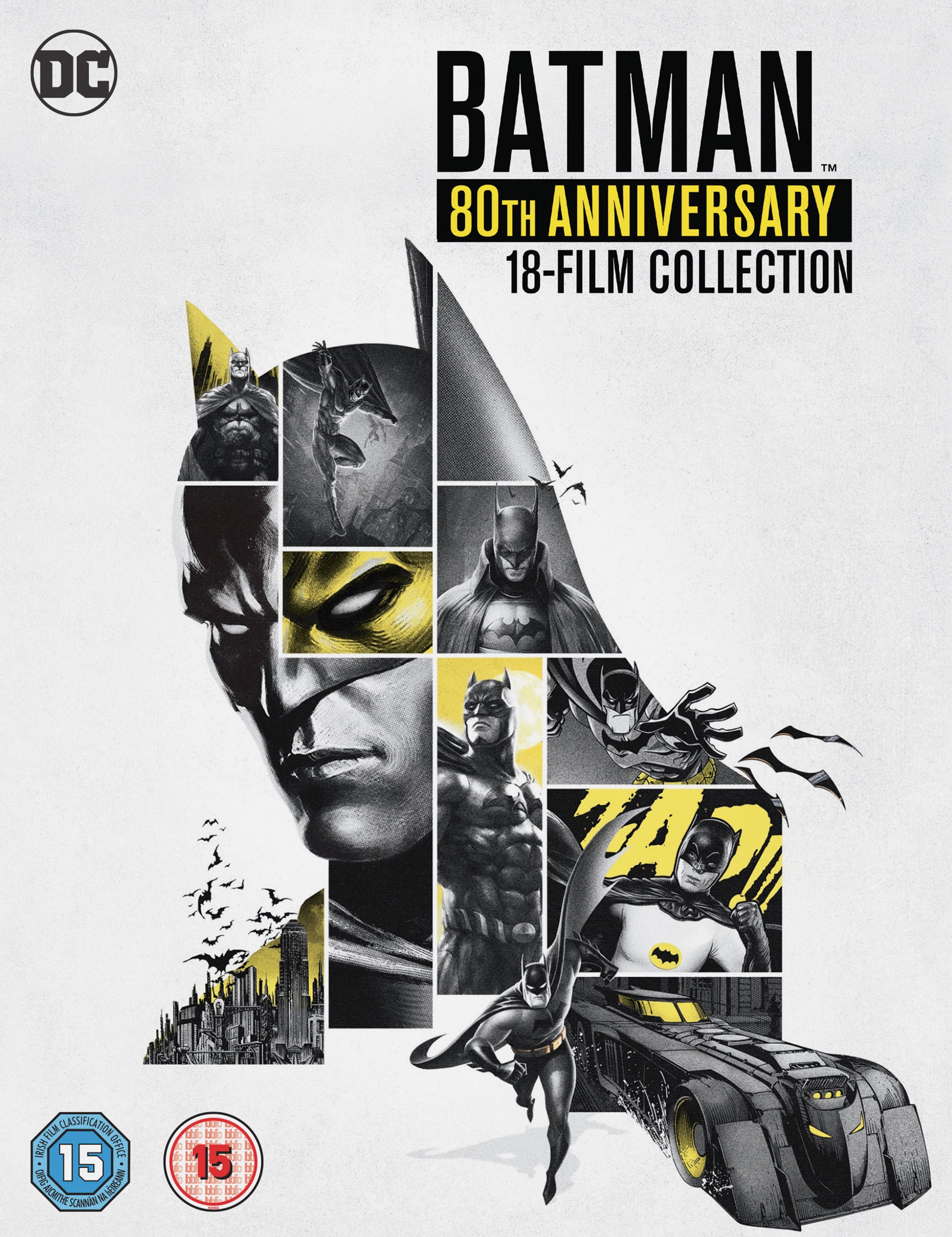 Batman: 80th Anniversary 18-film Collection - 1