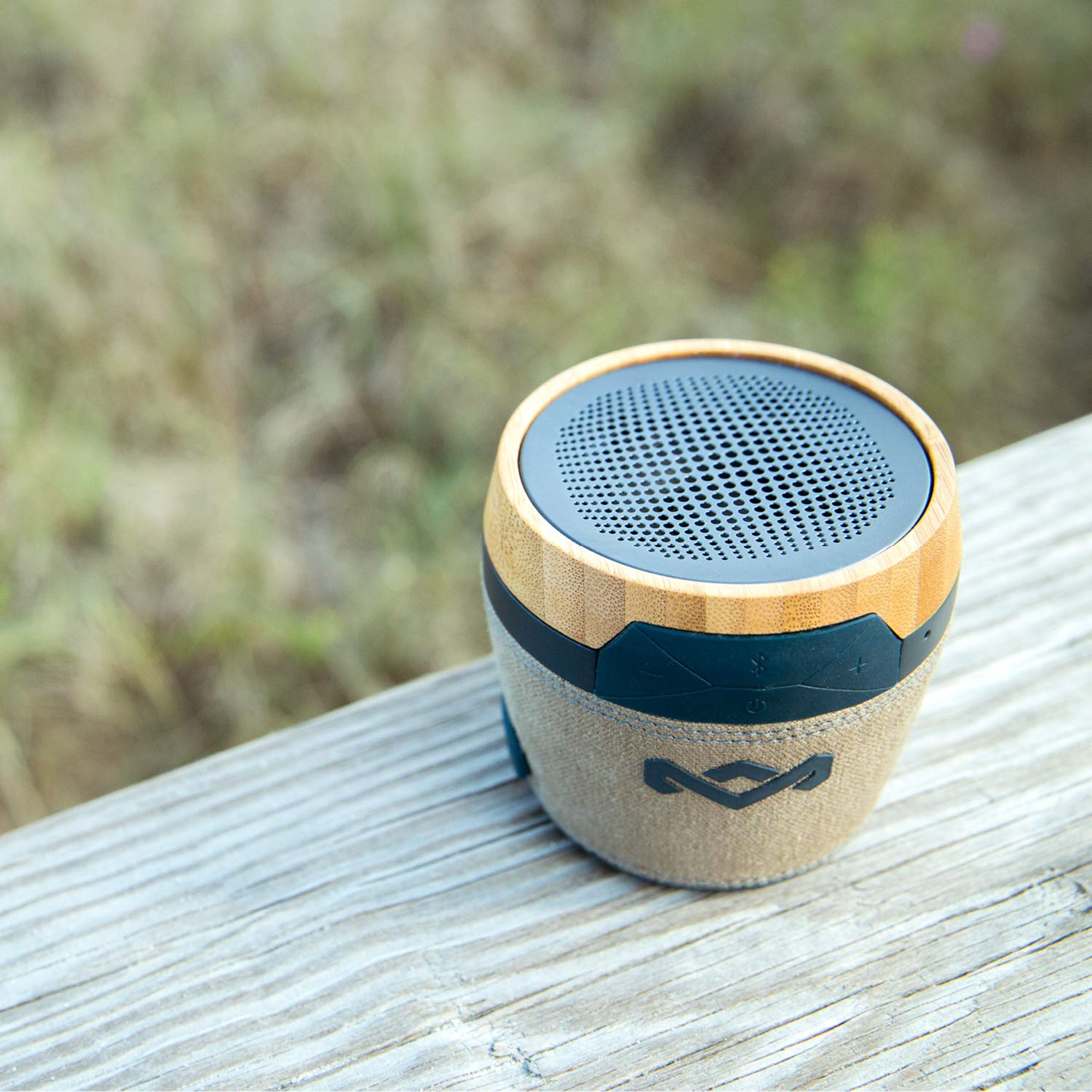 House Of Marley Chant Mini Navy Bluetooth Speaker - 4