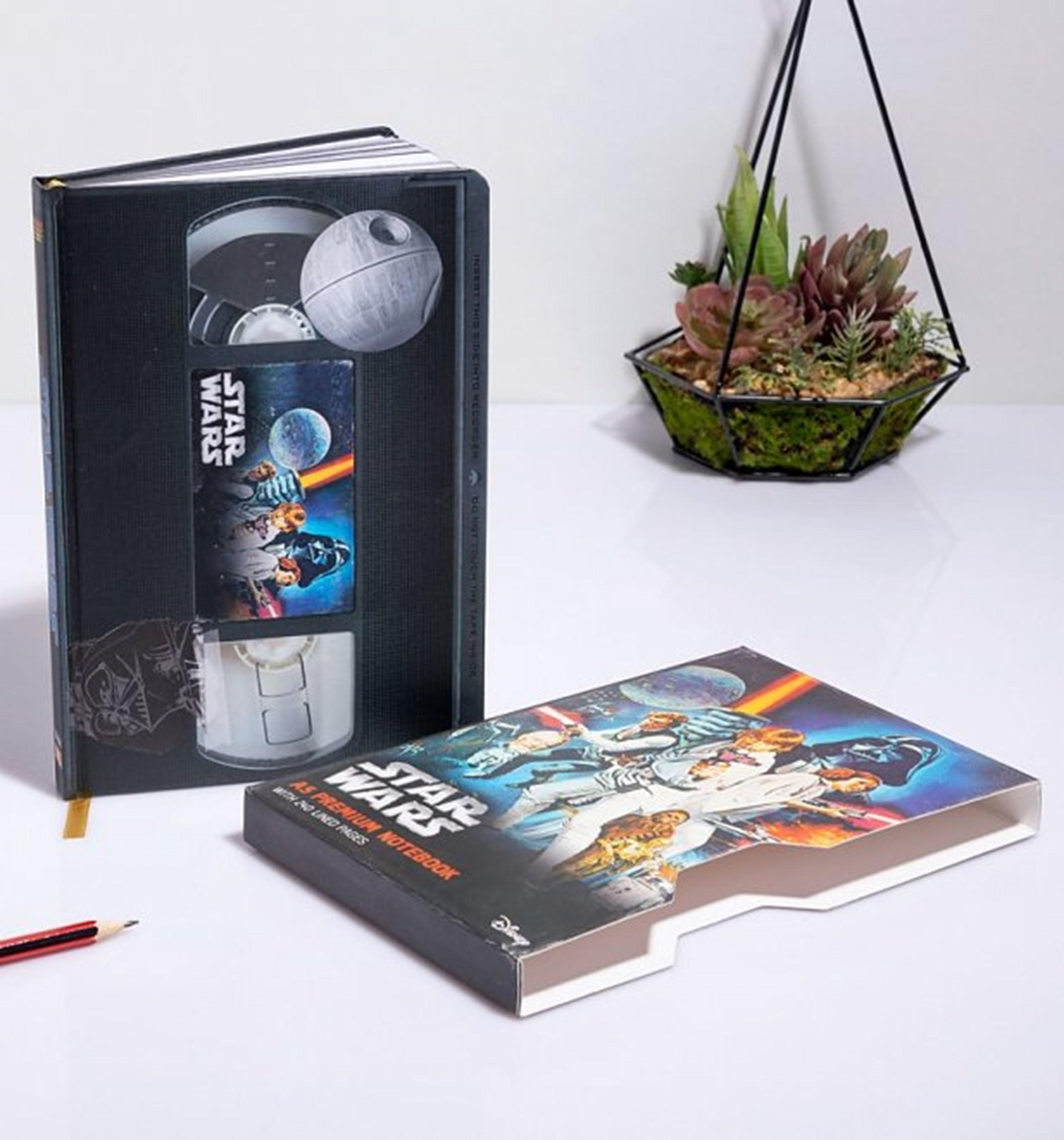 Star Wars (A New Hope) VHS Premium A5 Notebook - 1