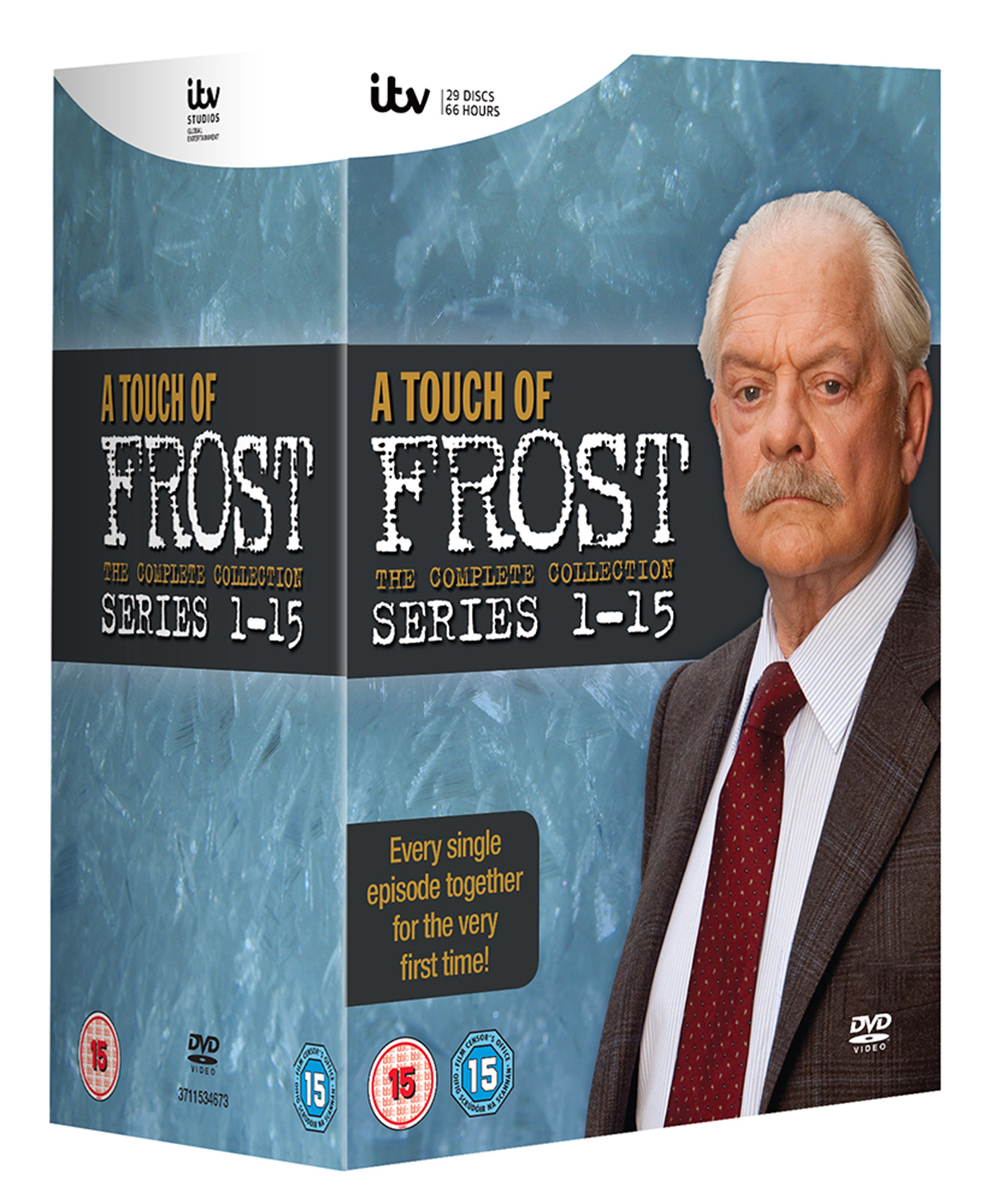 A Touch of Frost: The Complete Series 1-15 - 2