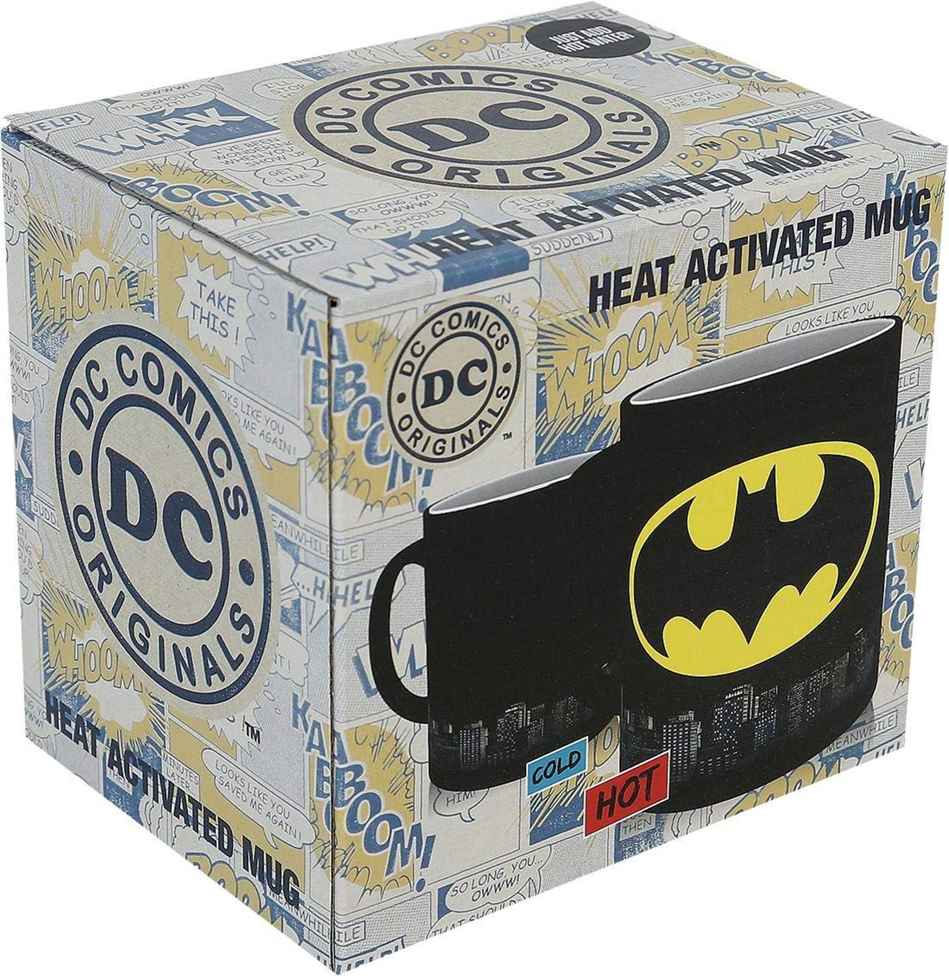 DC Comics: Batman Logo Heat Change Mug - 2