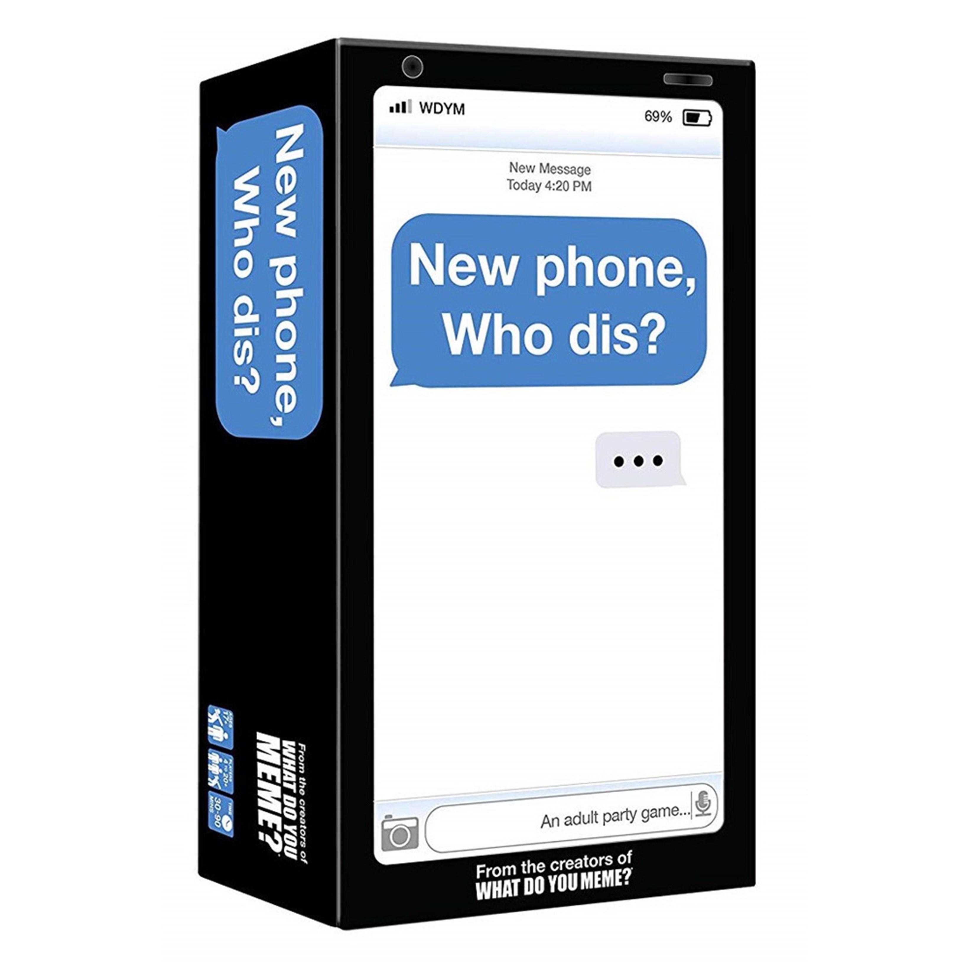 New Phone Who Dis? - 1