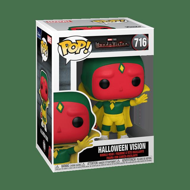 Halloween Vision (716) Wandavision: Marvel Pop Vinyl - 2