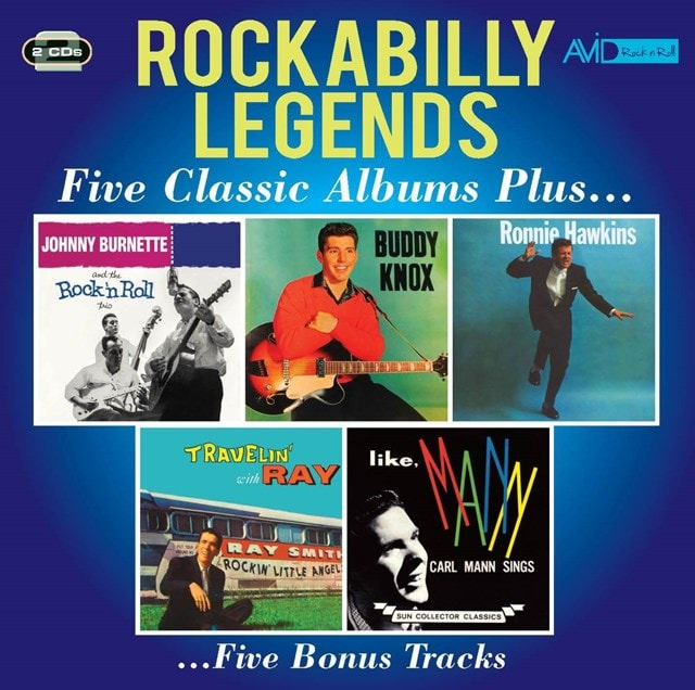 Rockabilly Legends: Five Classic Albums Plus... - 1