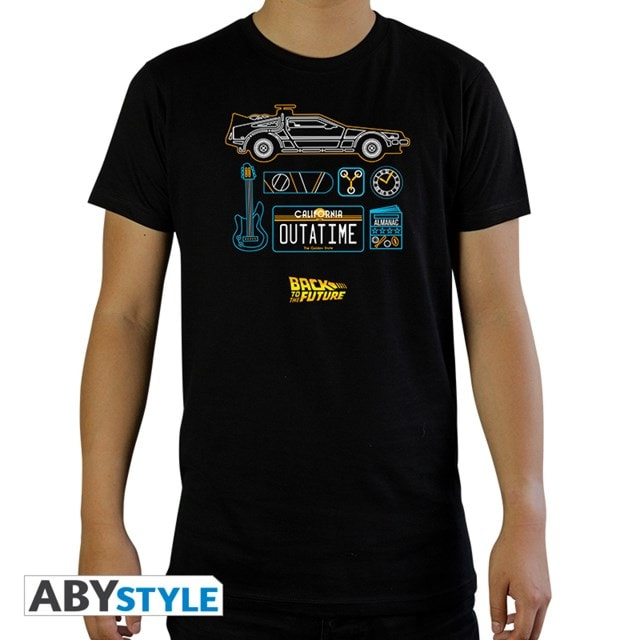 Back To The Future: Delorean (Extra Large) - 1