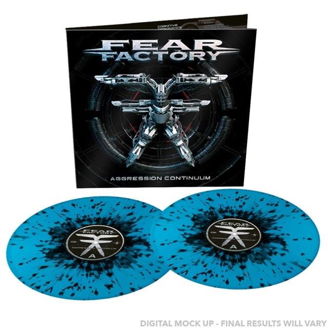 Aggression Continuum (hmv Exclusive) Blue/Black Splatter Vinyl - 1