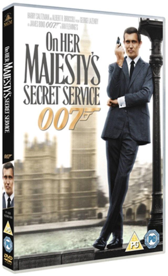 On Her Majesty's Secret Service - 1