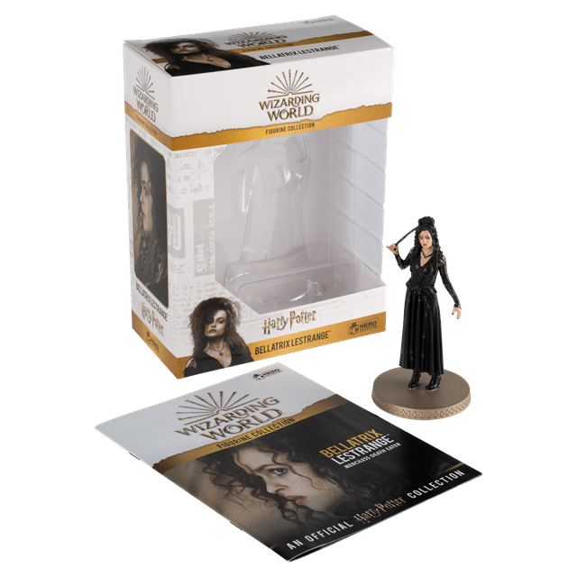 Bellatrix Lestrange: Harry Potter 1:16 Figurine With Magazine: Hero Collector - 4