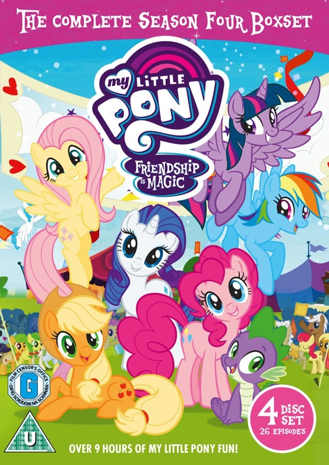 My Little Pony - Friendship Is Magic: The Complete Season Four - 1