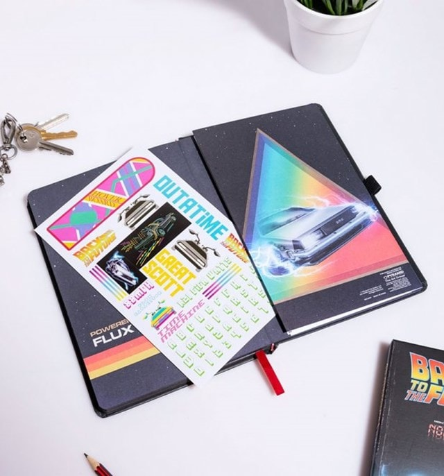 Back To The Future (Great Scott) VHS Premium A5 Notebook - 4