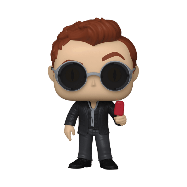 Crowley With Apple (1078) Good Omens Pop Vinyl (with Ice Pop Chase) - 3