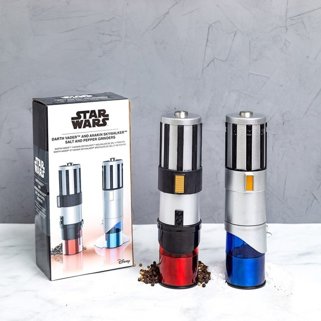 Star Wars Lightsaber Electric Salt & Pepper Mill Grinder - 4