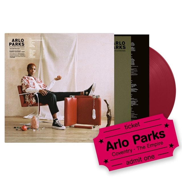 Arlo Parks - Collapsed In Sunbeams - LP & Coventry Empire Event Entry - 1